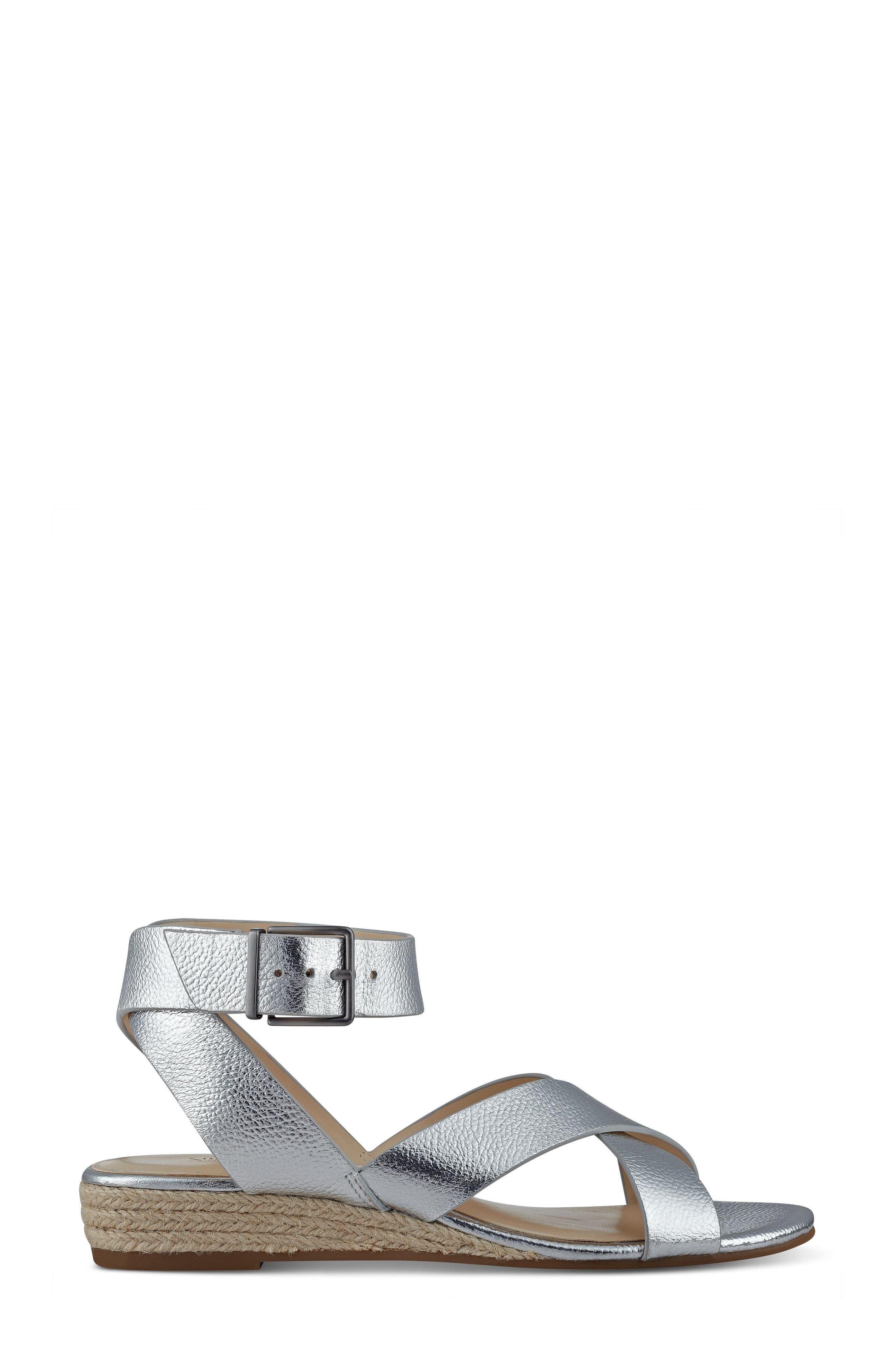 Alternate Image 3  - Nine West Mossa Cross Strap Wedge Sandal (Women)