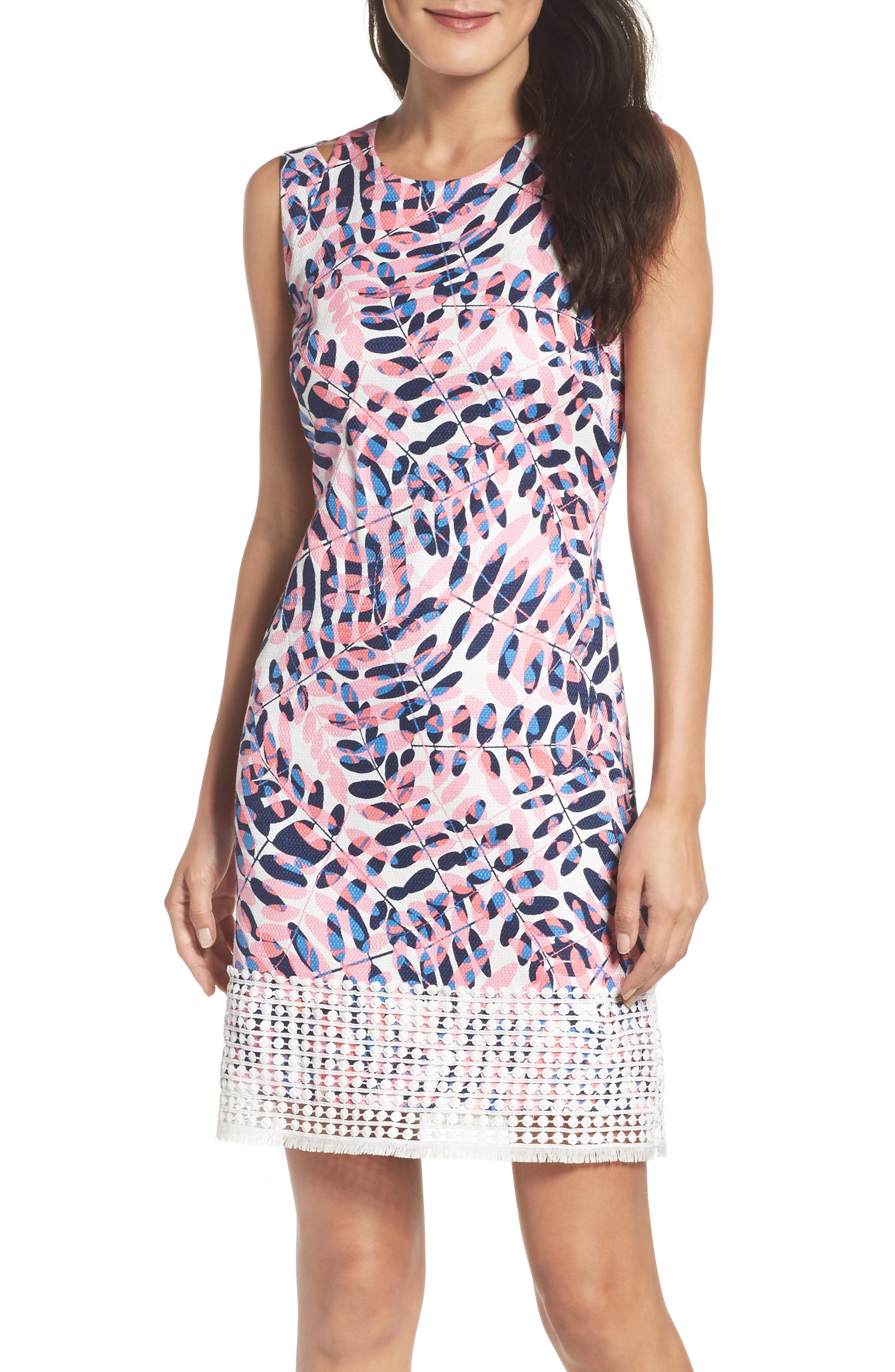 Taylor Dresses Print Sheath Dress