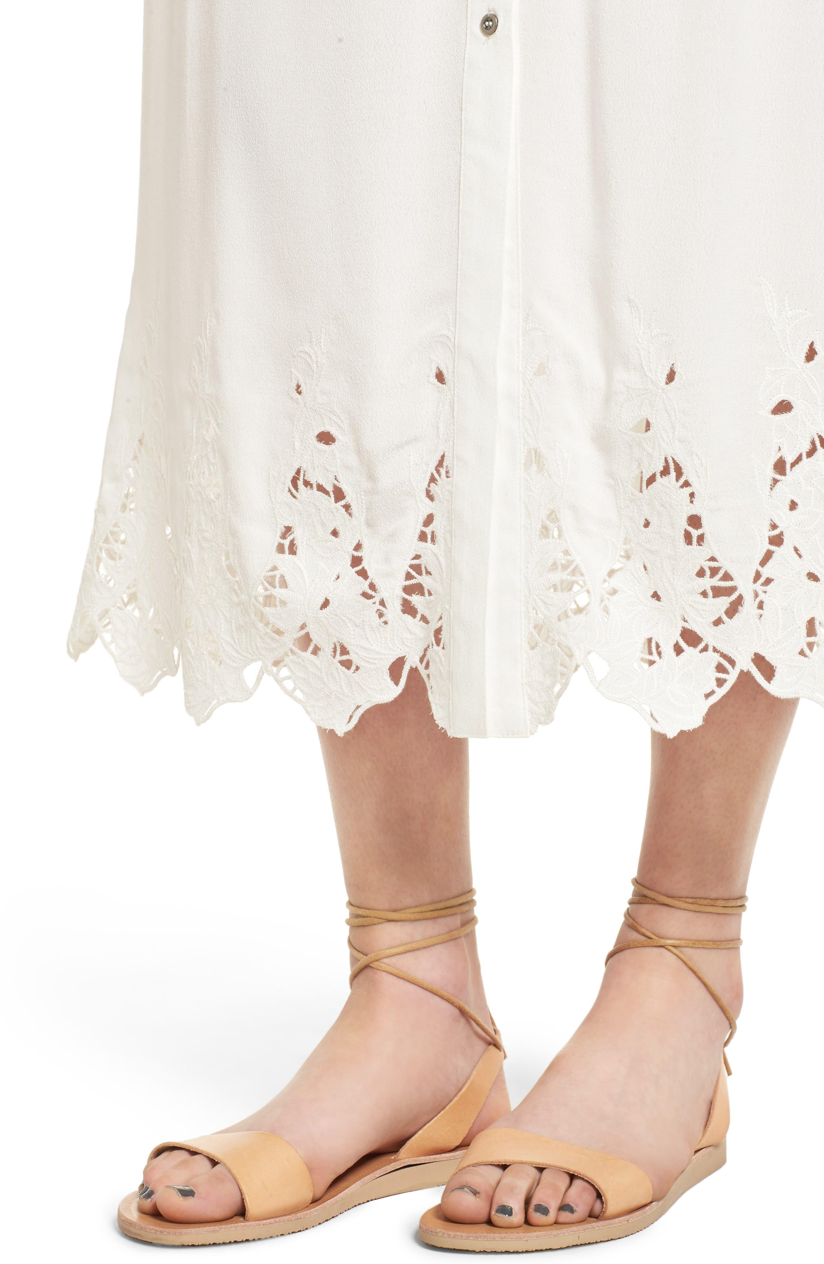 Alternate Image 5  - ASTR the Label Maxi Skirt