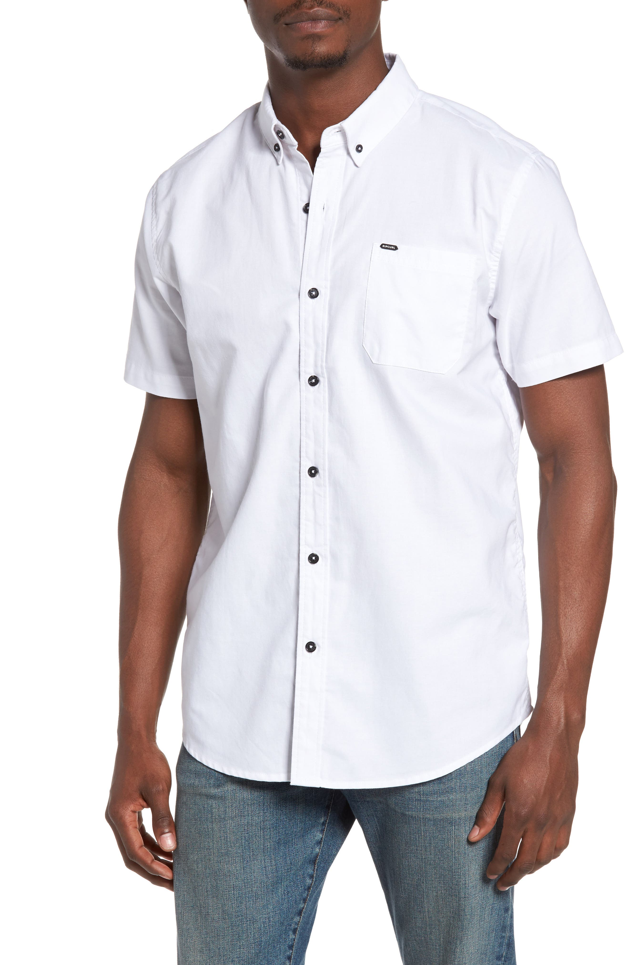 Alternate Image 1 Selected - Rip Curl Ourtime Woven Shirt