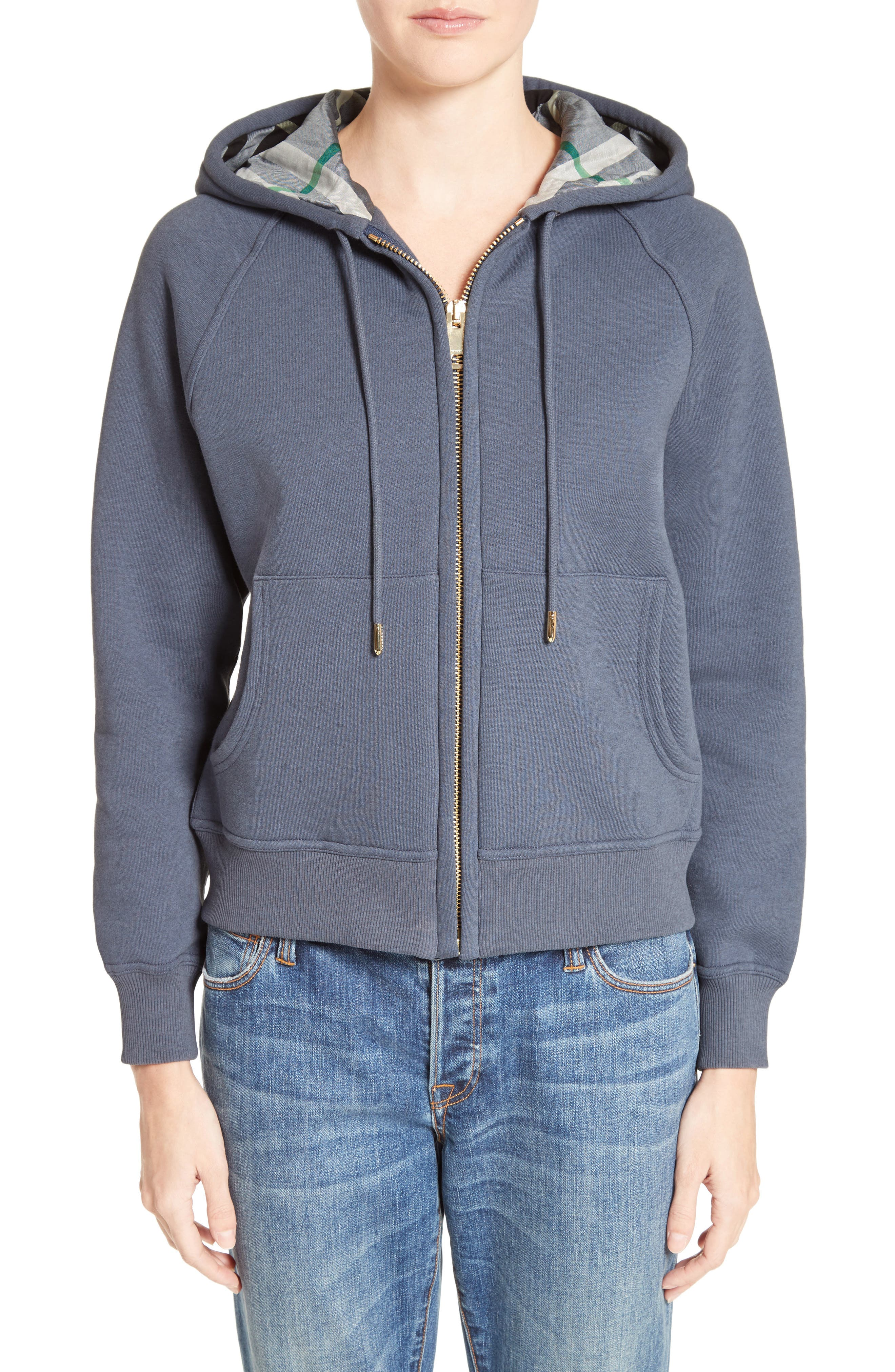 Burberry Neiva Classic Cotton Blend Hoodie
