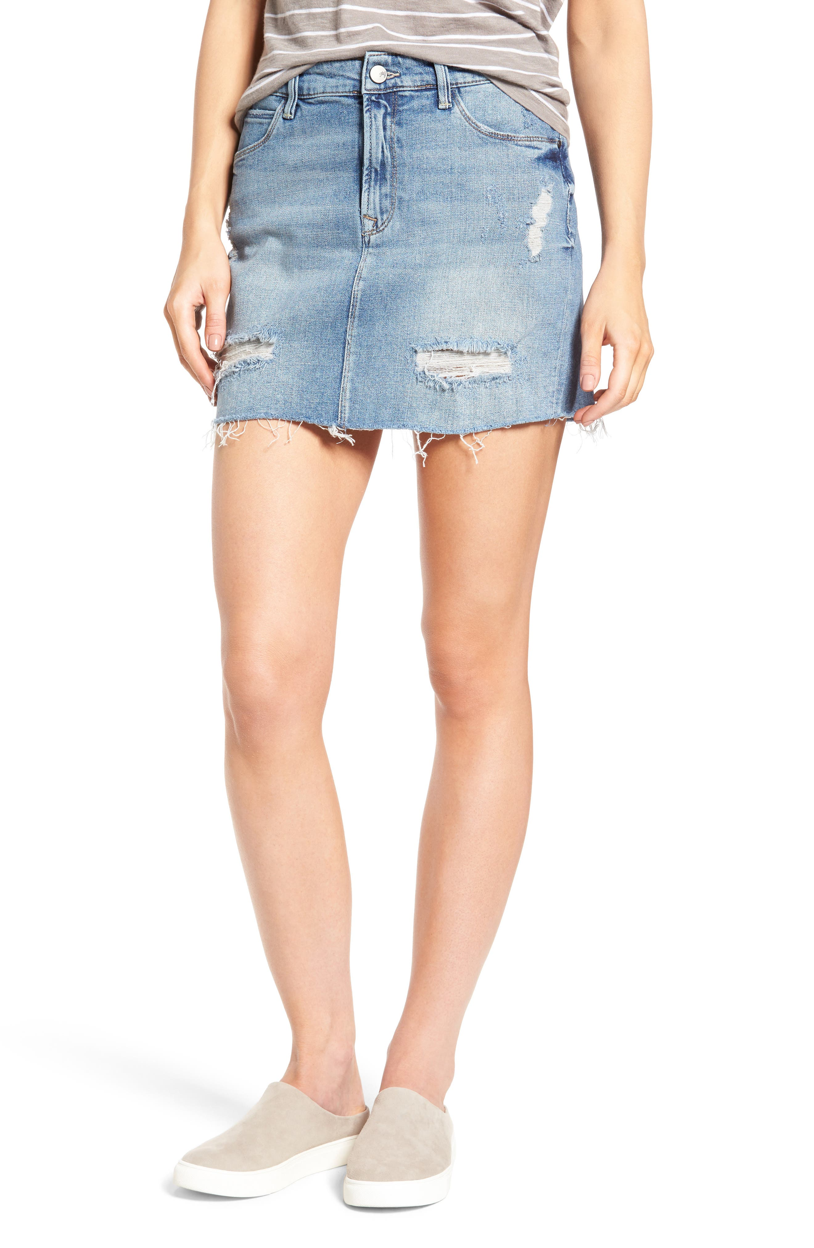 Blue Denim Skirts: A-Line, Pencil, Maxi, Miniskirts & More | Nordstrom