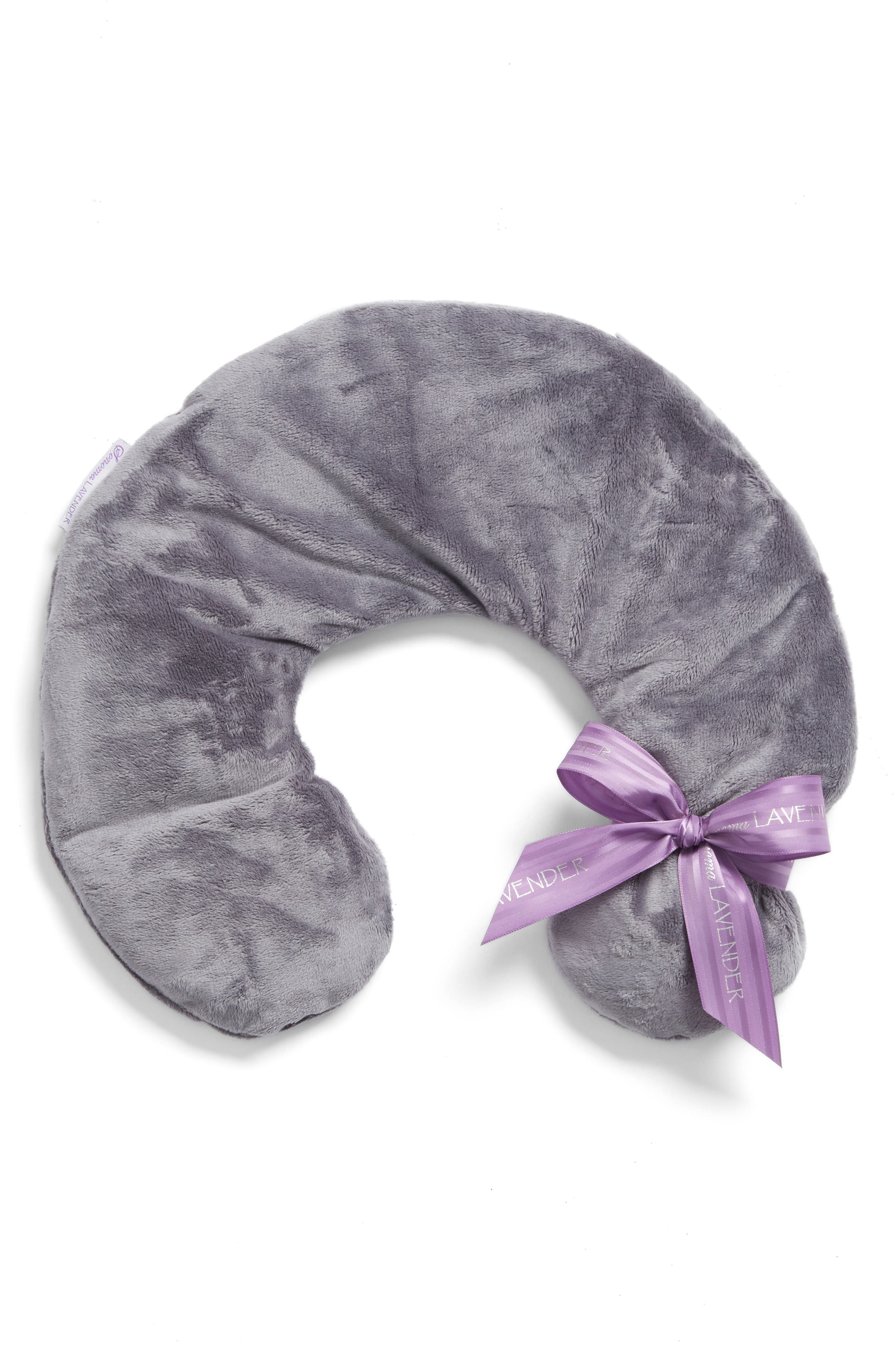 Sonoma Lavender Solid Charcoal Grey Neck Pillow ($44 Value)