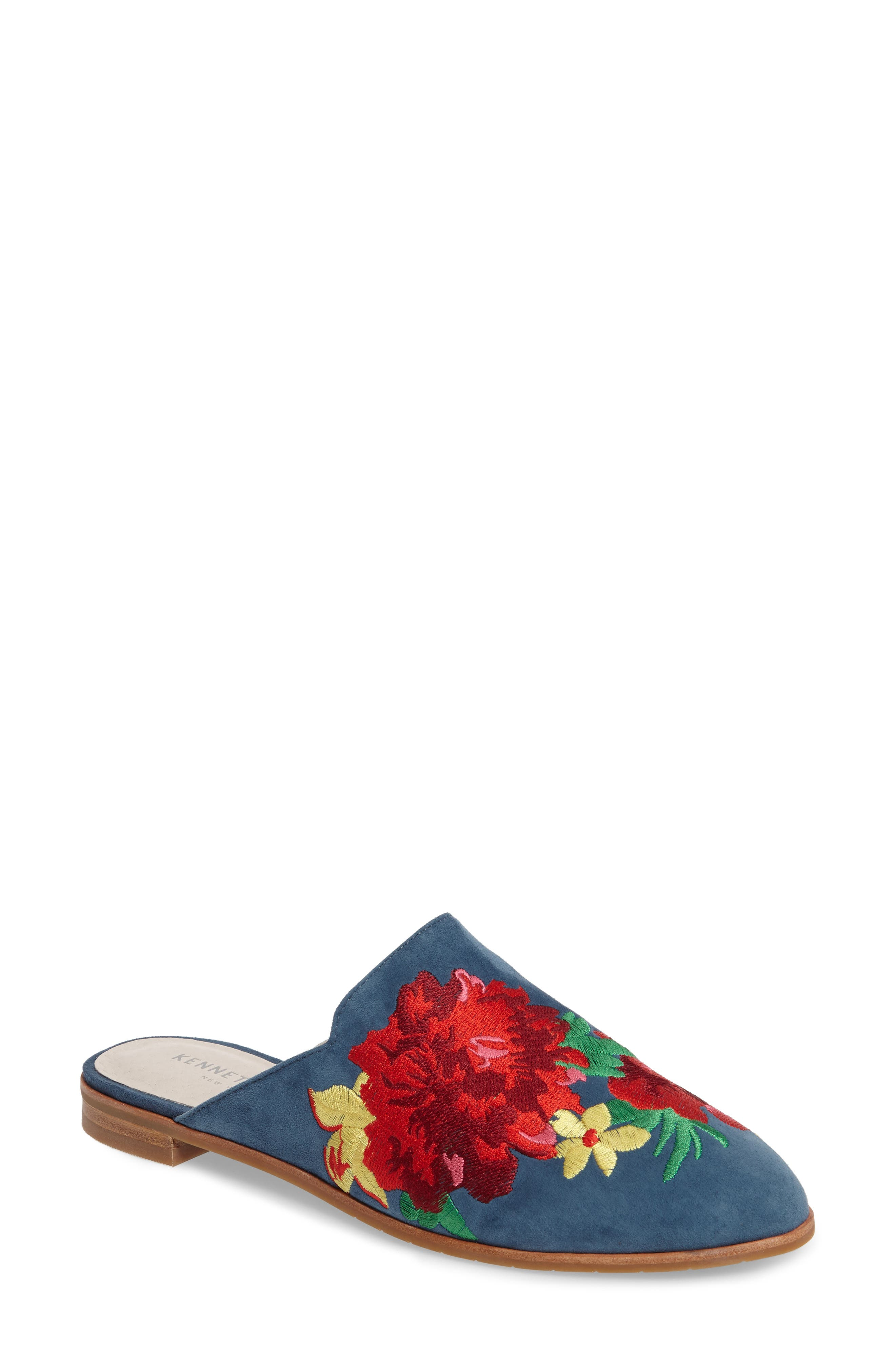Kenneth Cole New York Roxanne Embroidered Mule (Women)
