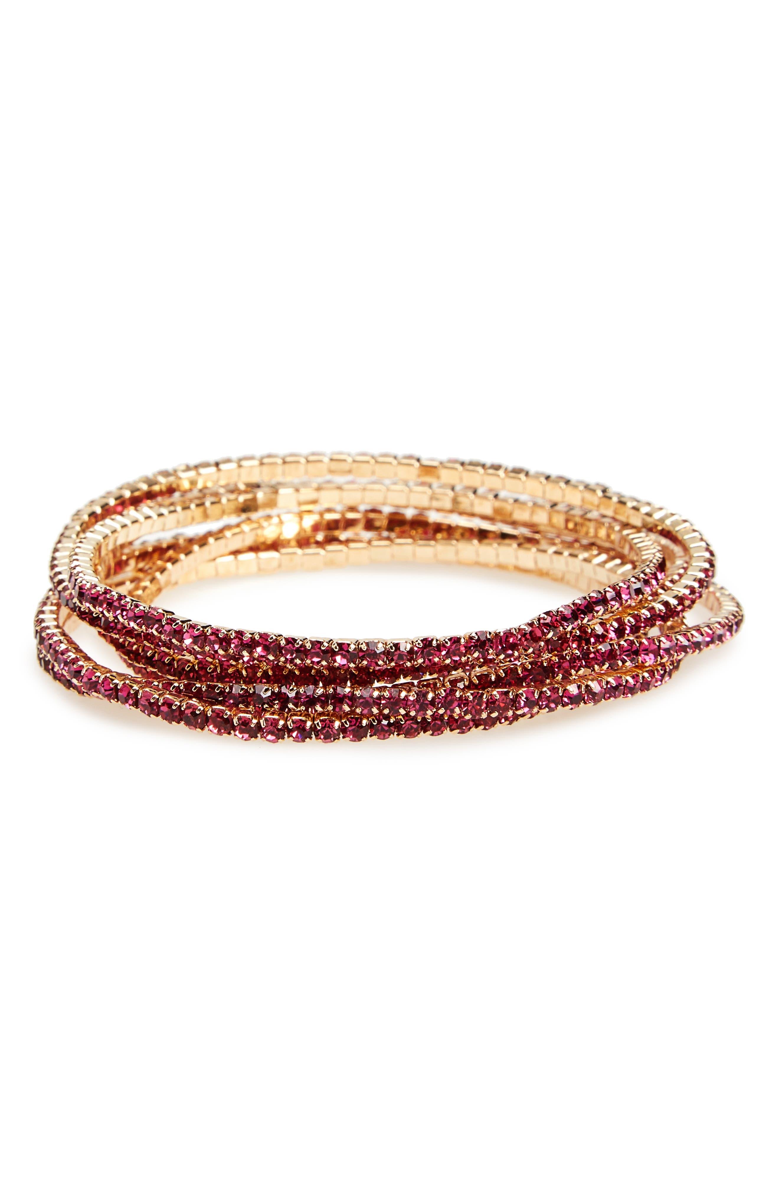 Panacea Pack of 6 Stretch Bracelets