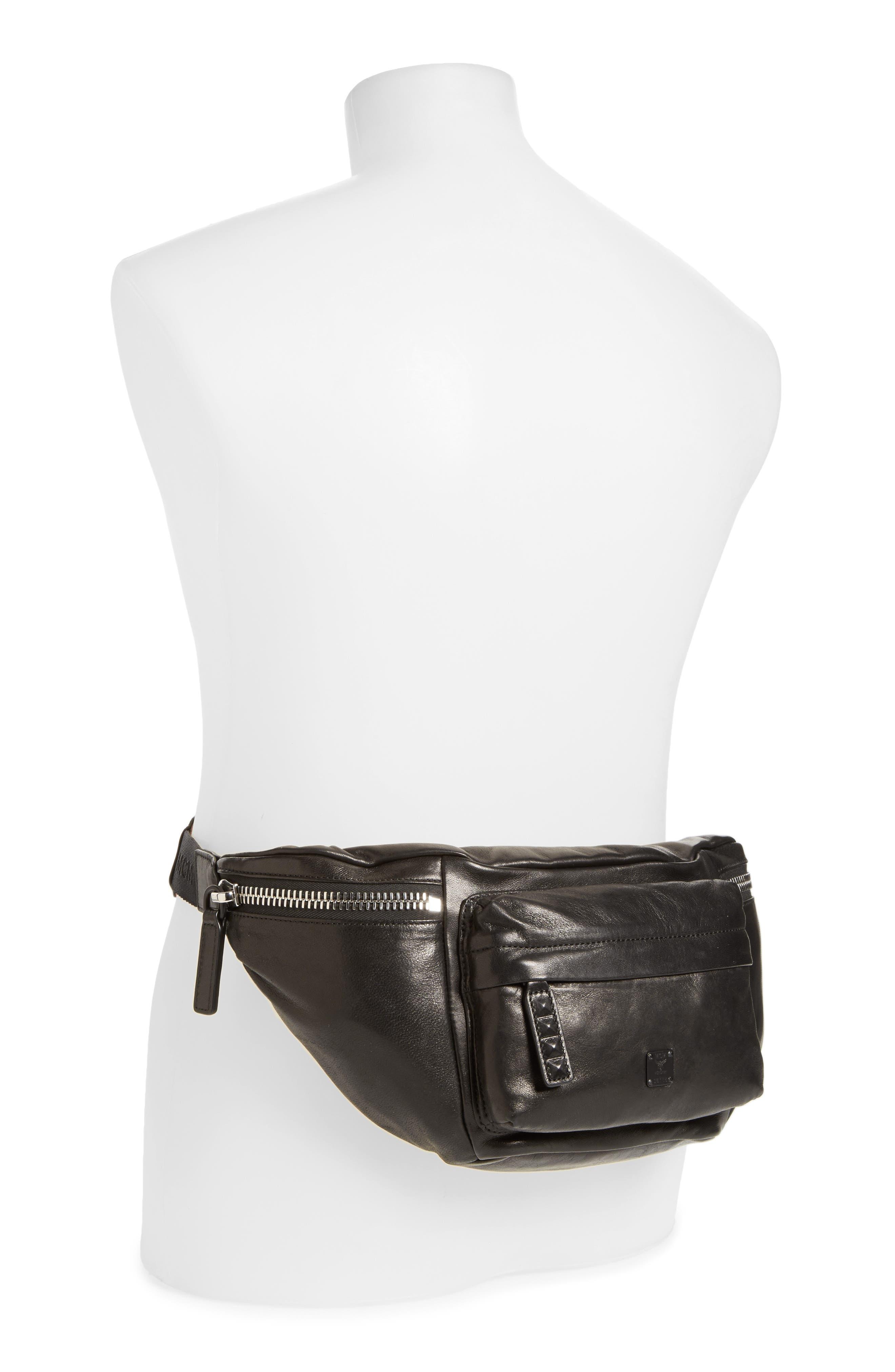 Alternate Image 2  - MCM Leather Waist Bag