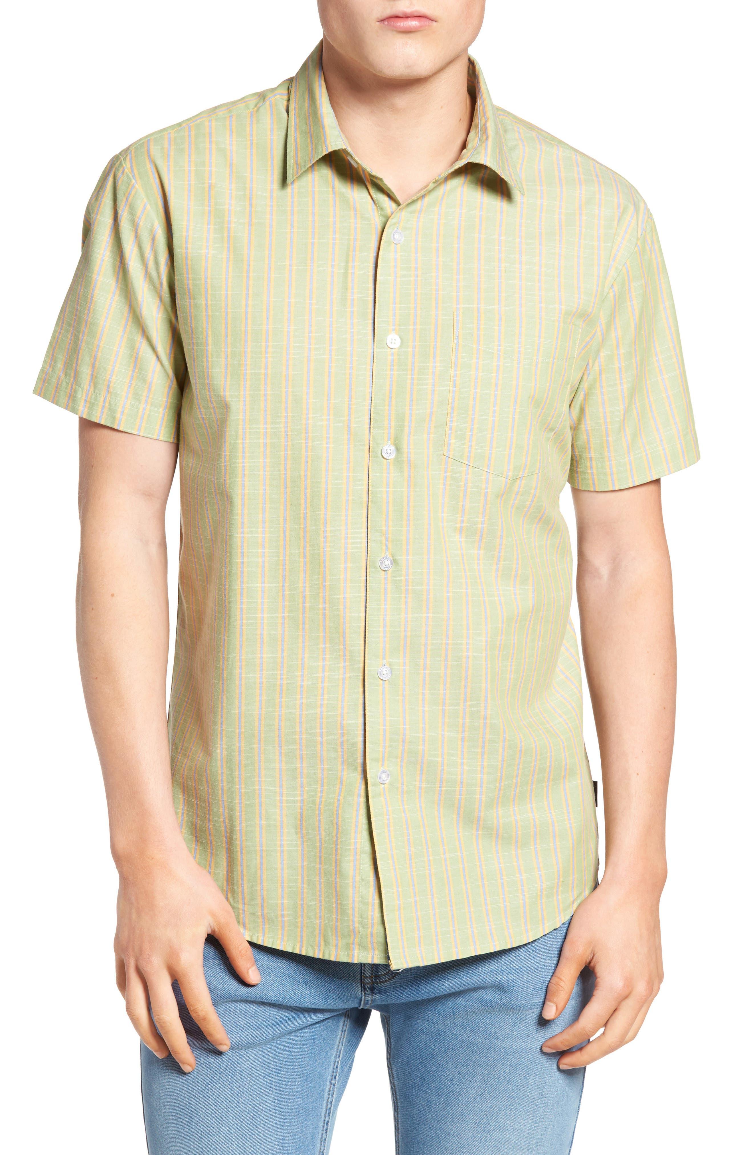 Brixton Lloyd Plaid Woven Shirt