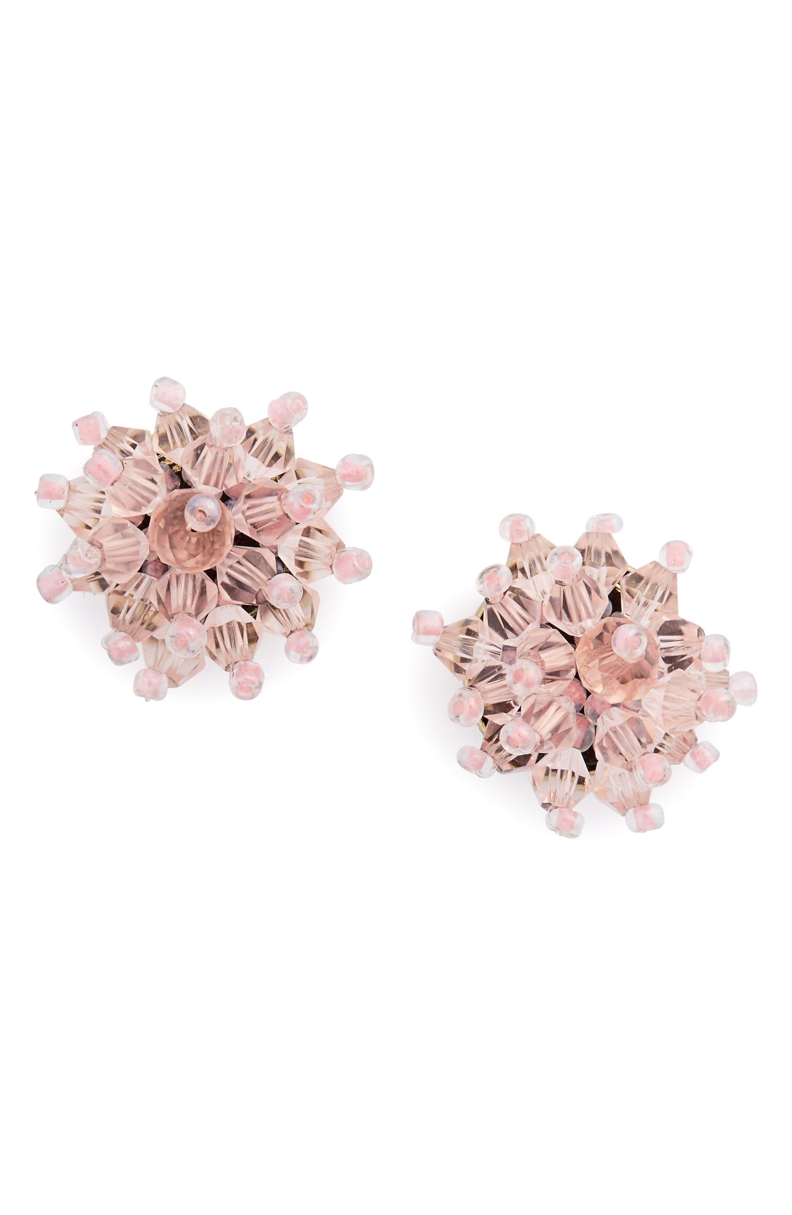 BaubleBar Chrysanthemum Stud Earrings