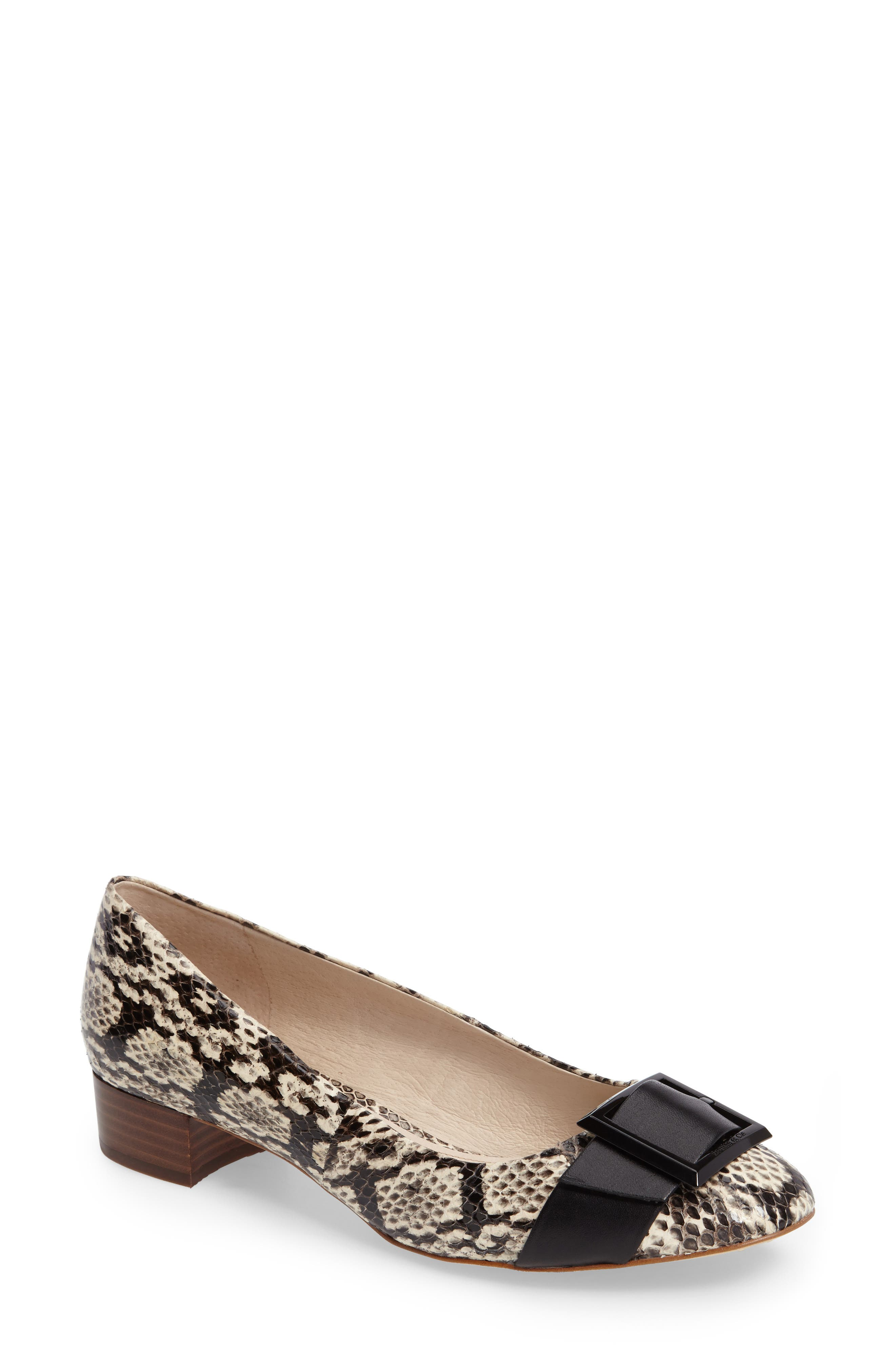 Alternate Image 1 Selected - Louise et Cie 'Brianna' Buckle Toe Pump (Women) (Nordstrom Exclusive)