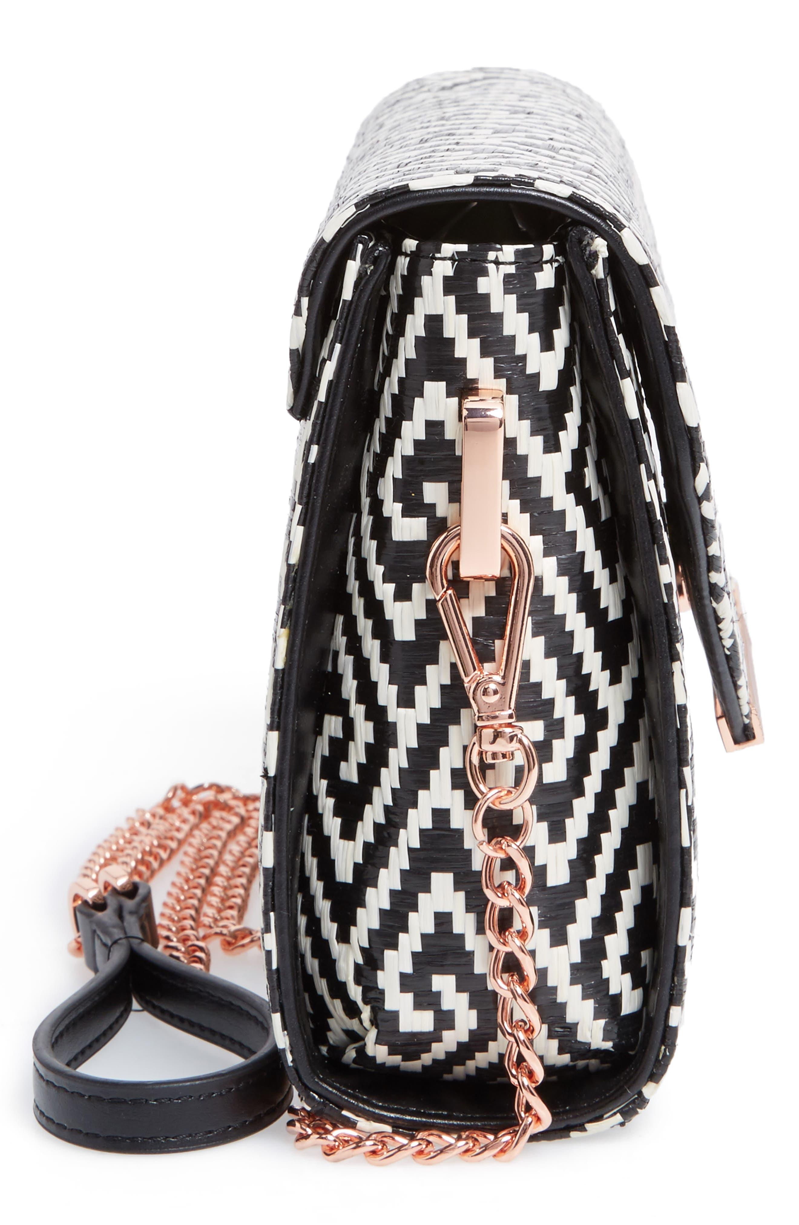 Alternate Image 5  - Ted Baker London Woven Crossbody Bag