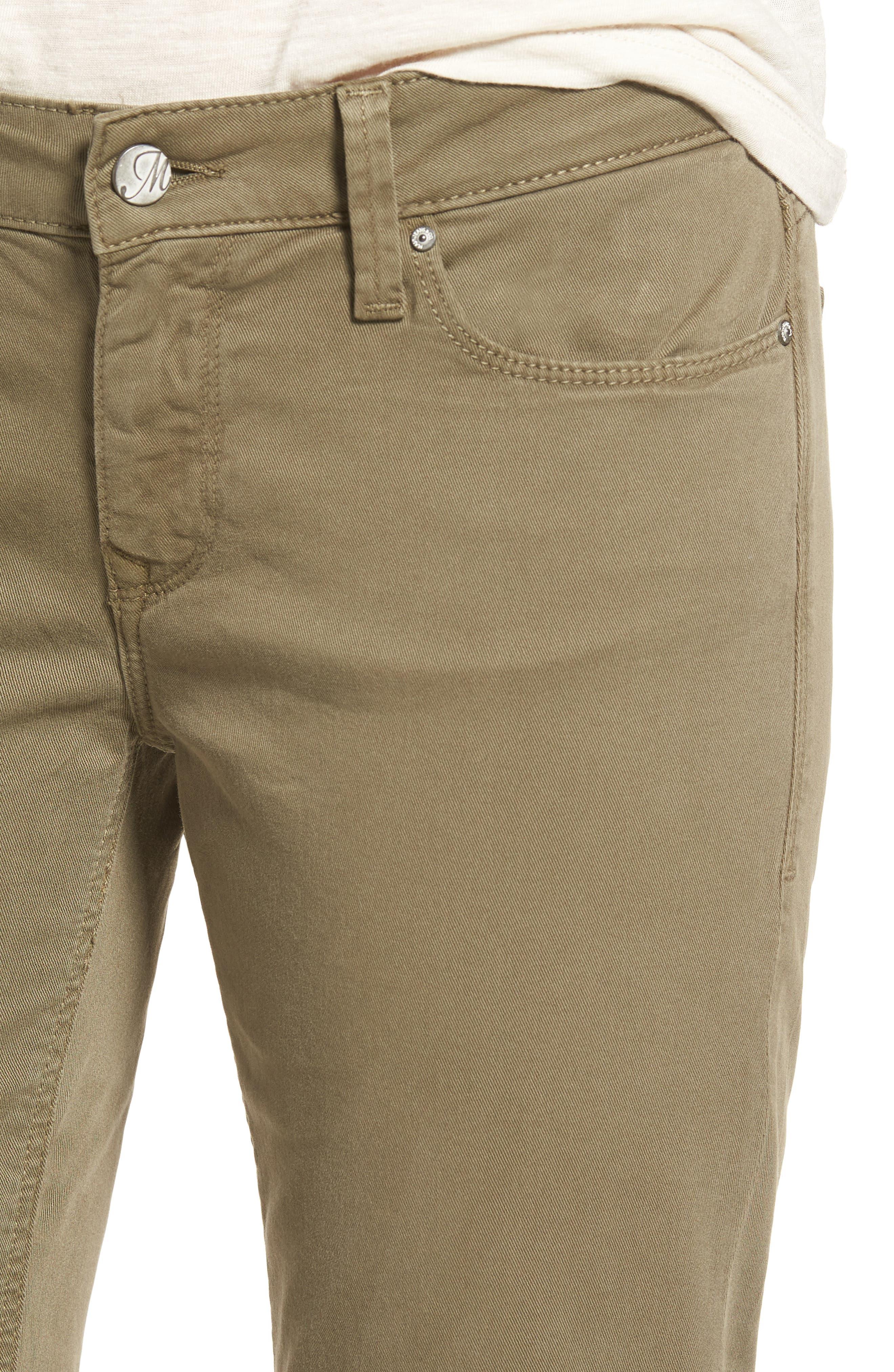 Alternate Image 4  - Mavi Jeans Emma Slim Boyfriend Stretch Twill Pants