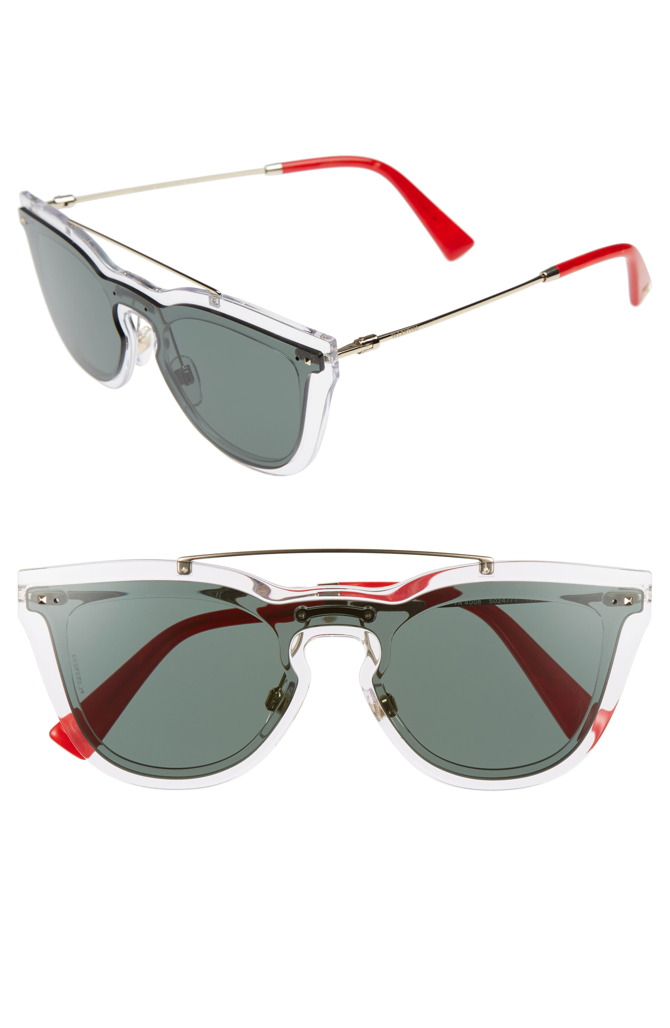 Valentino 48mm Retro Sunglasses