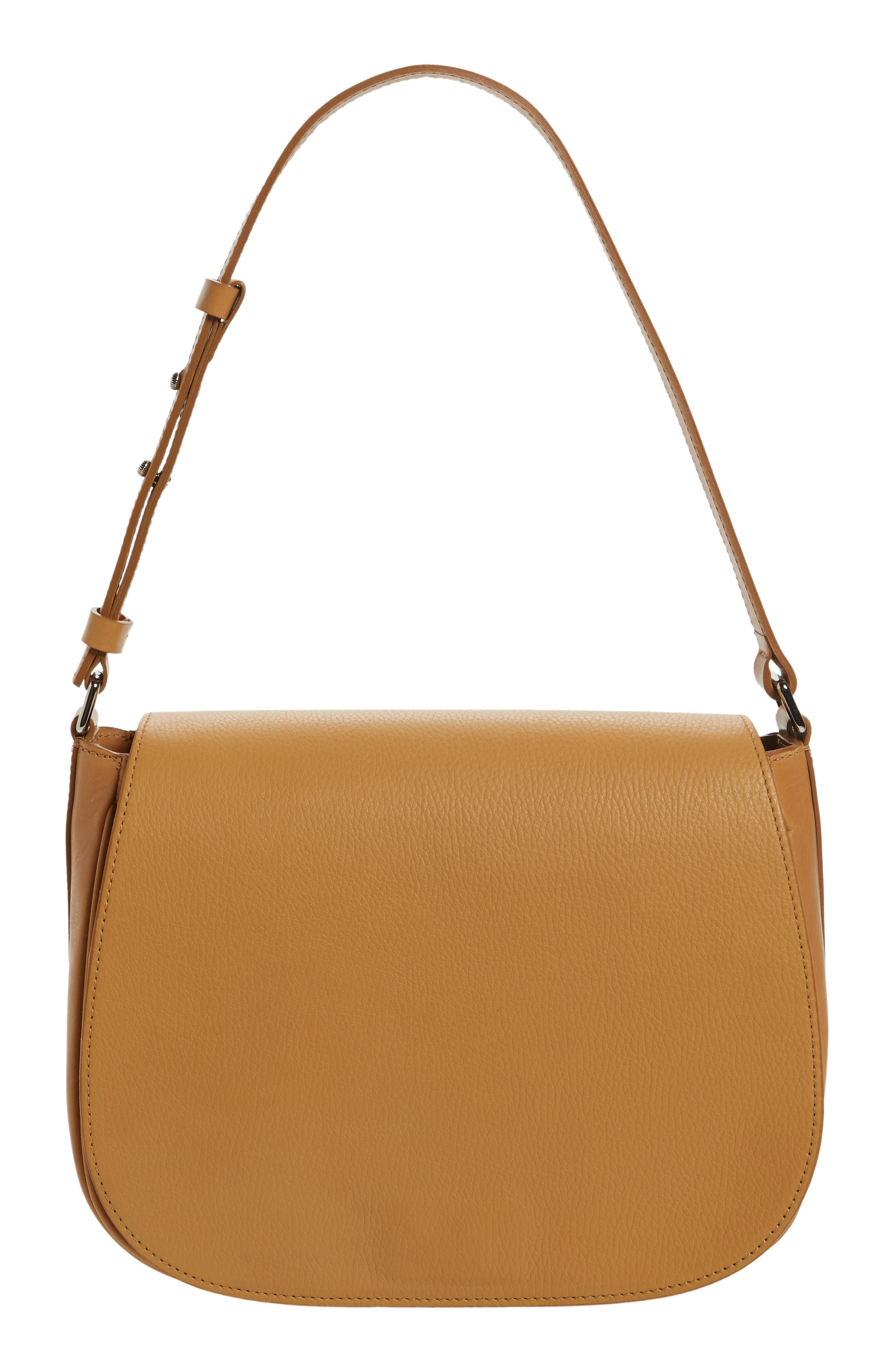 Shinola Leather Shoulder Bag
