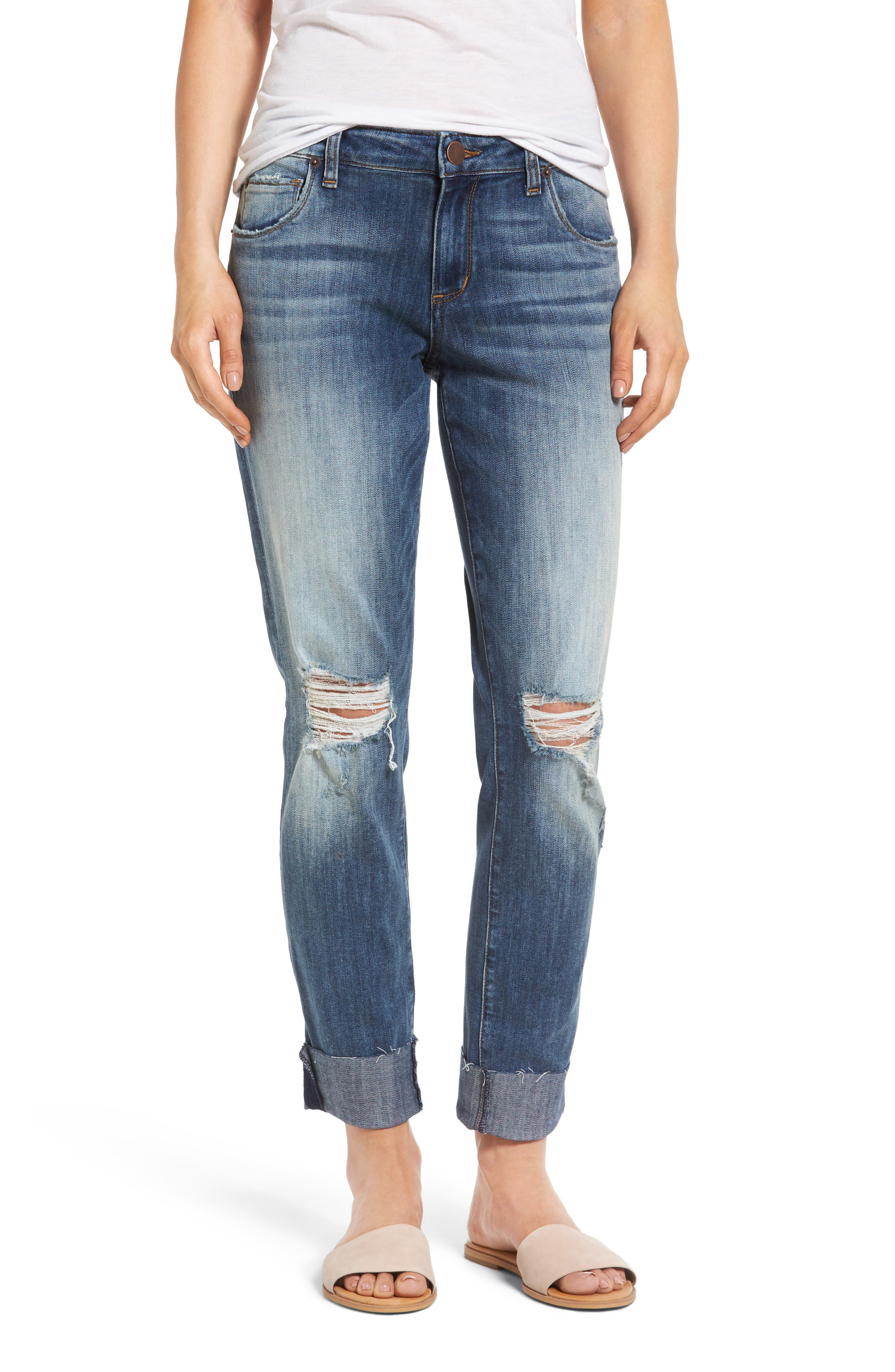 STS Blue Taylor Tomboy Ripped Boyfriend Jeans (Altamont)