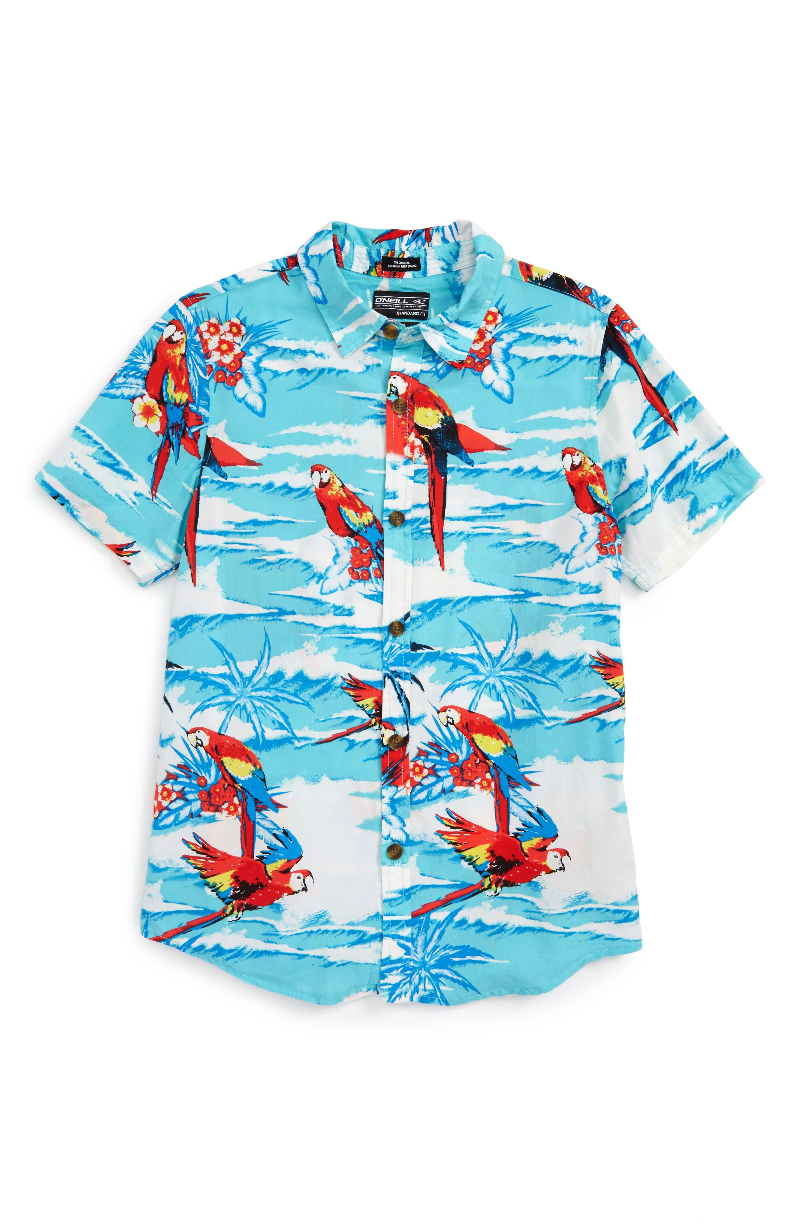 O'Neill Macaw Sport Shirt (Big Boys)
