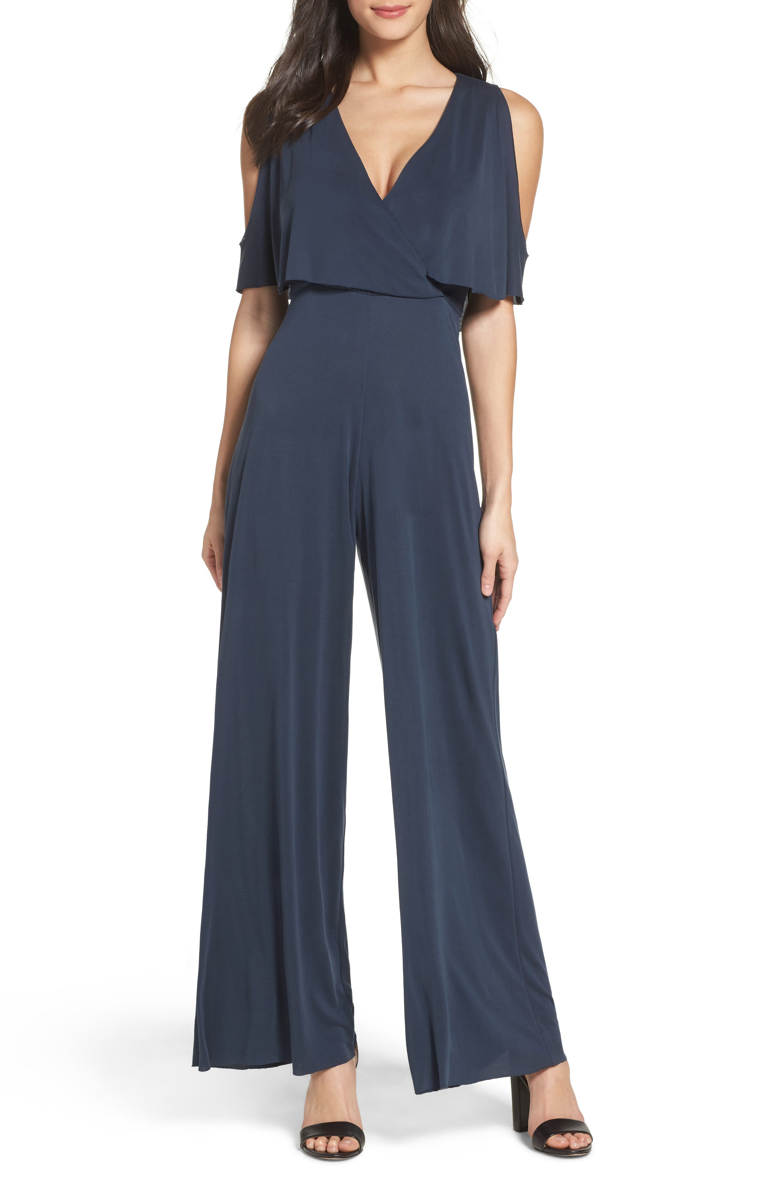 NSR Cold Shoulder Jumpsuit