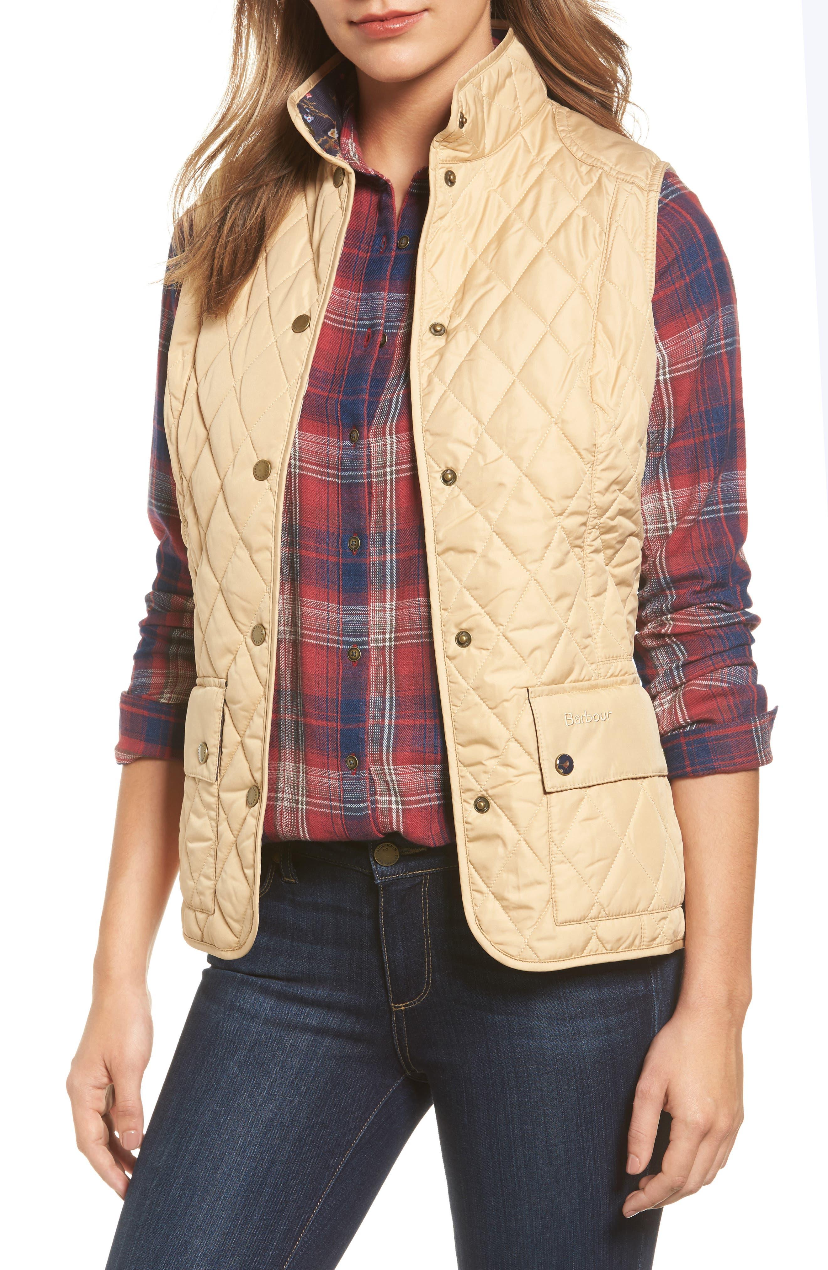 Alternate Image 1 Selected - Barbour 'Saddleworth' Quilted Vest