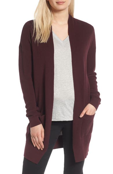 Main Image - BP. Lightweight Rib Stitch Cardigan