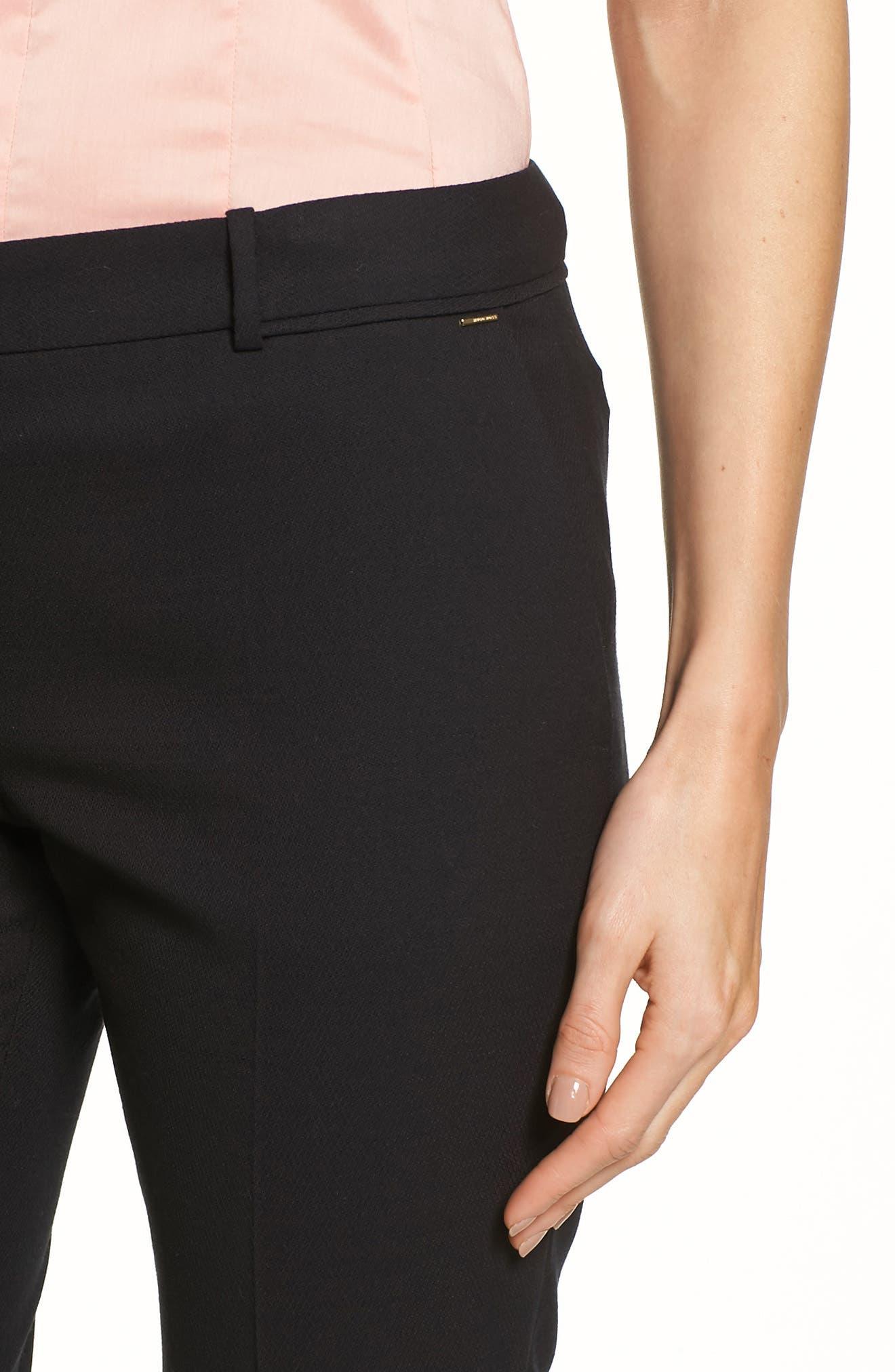 Alternate Image 5  - BOSS Titana Stretch Wool Trousers (Petite)