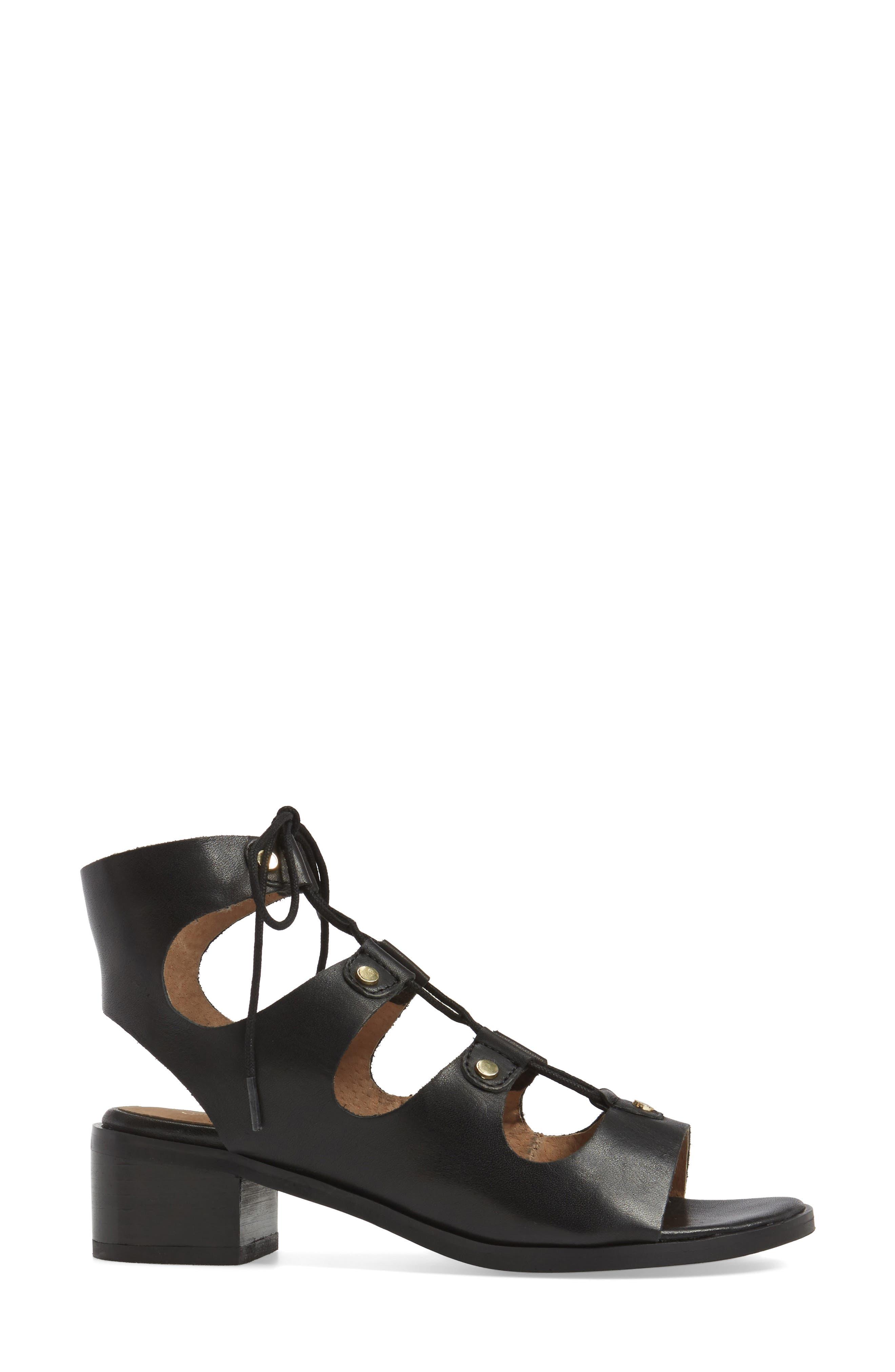 Alternate Image 3  - Seychelles Love Affair Lace-Up Sandal (Women)