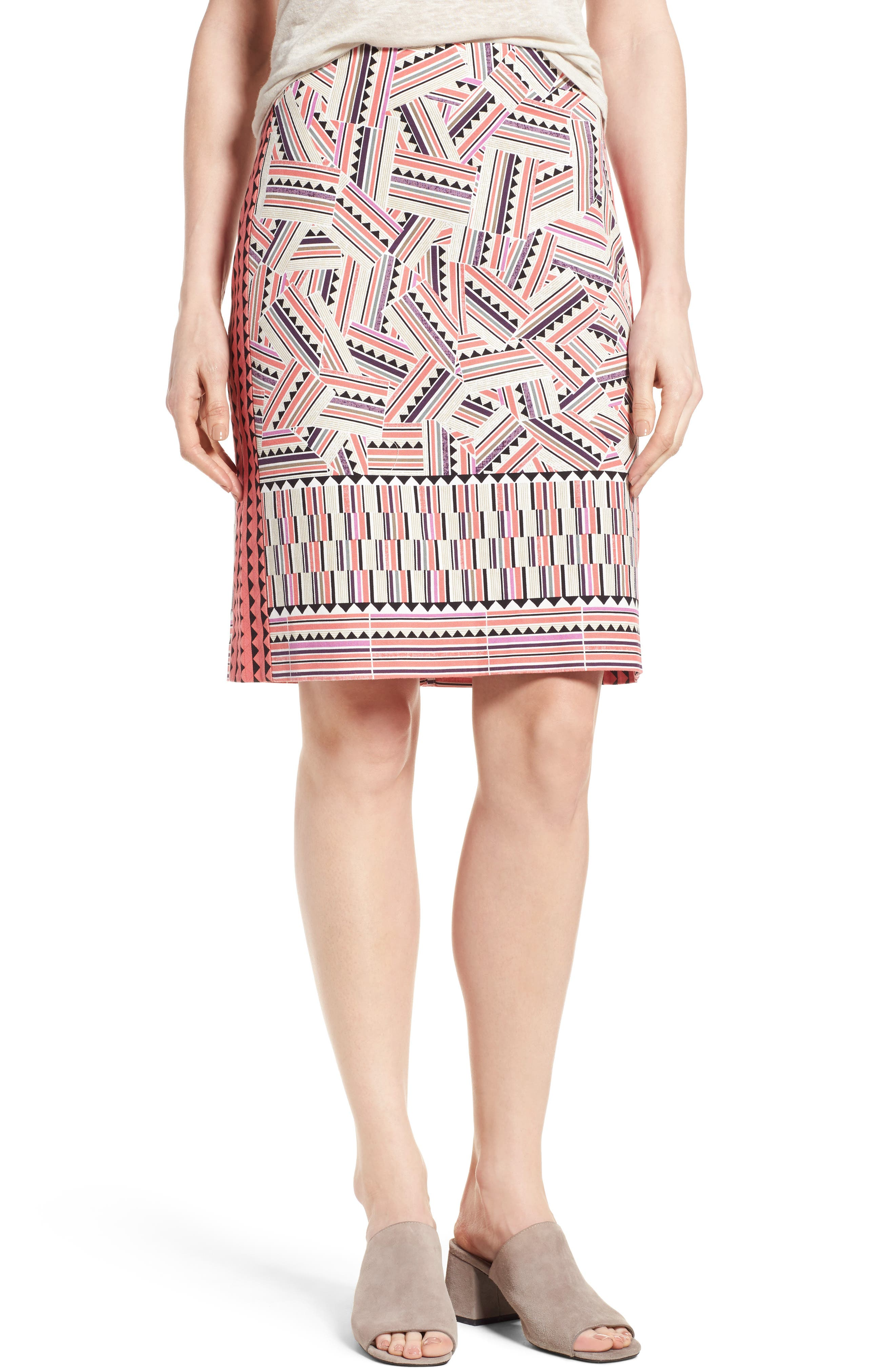NIC+ZOE Global Trotter Skirt (Regular & Petite)