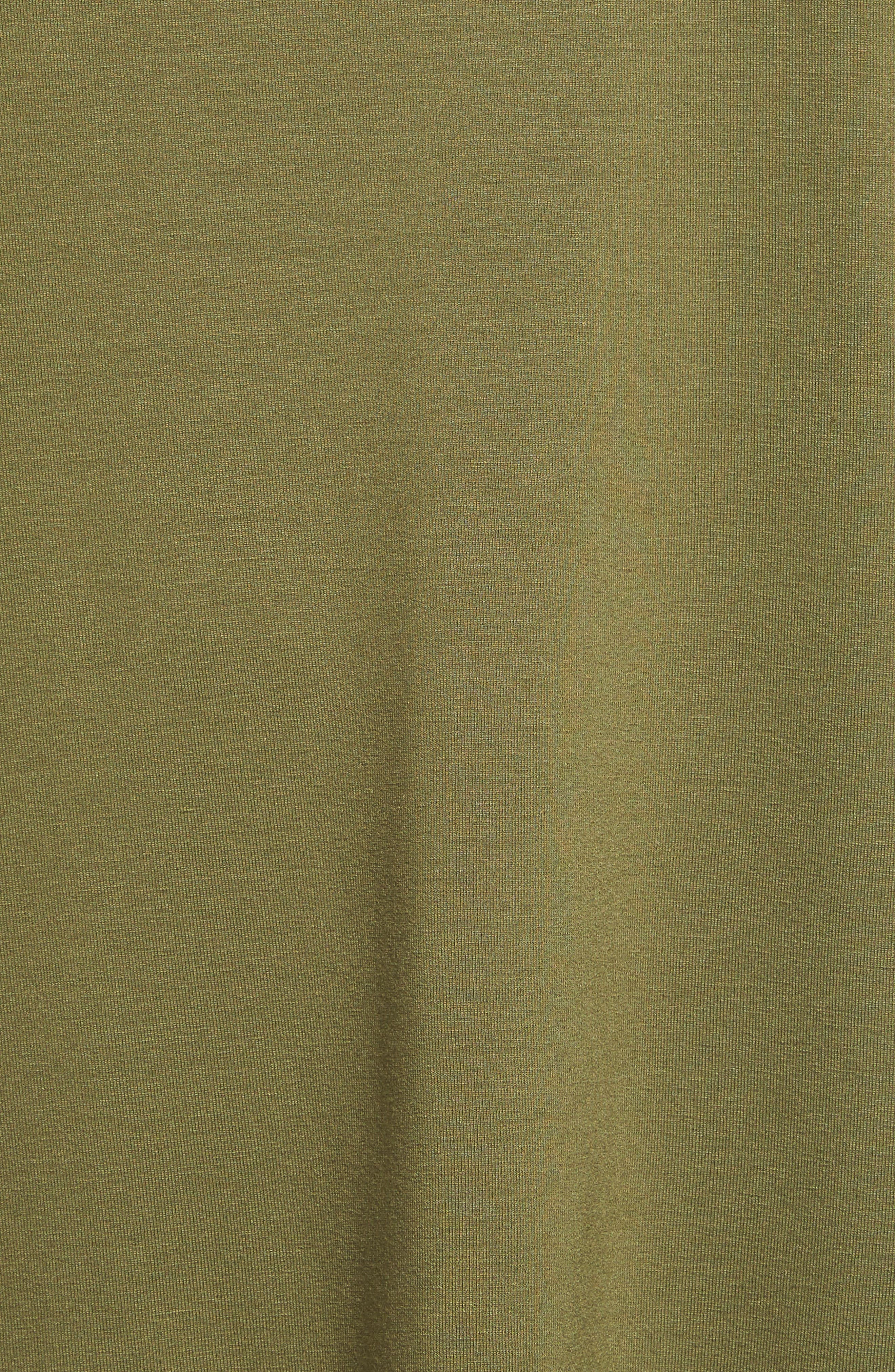 Alternate Image 5  - Eileen Fisher Jersey Scoop Neck Long Tank (Regular & Petite)