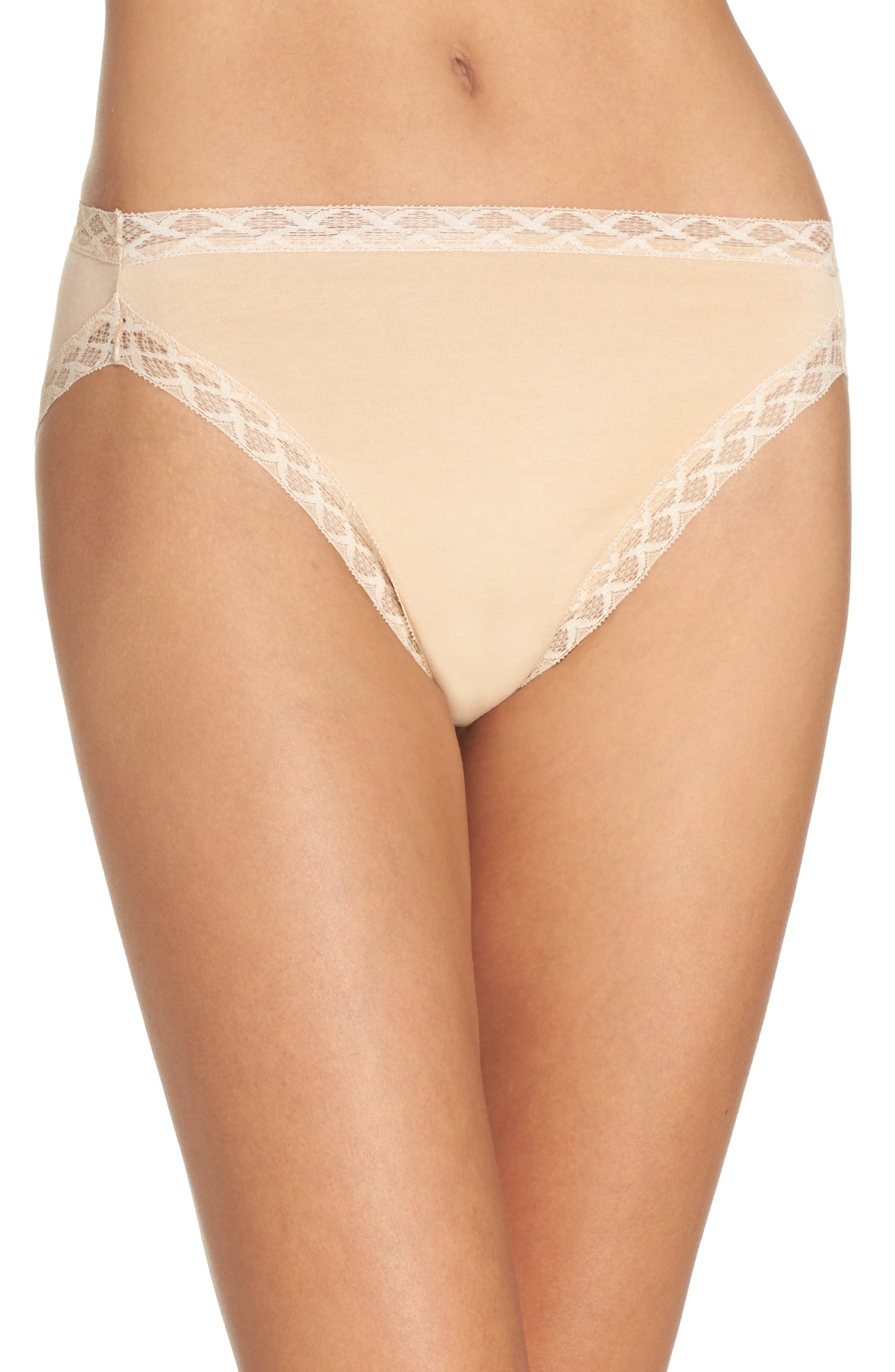 Main Image - Natori 'Bliss' French Cut Briefs (3 for $45)