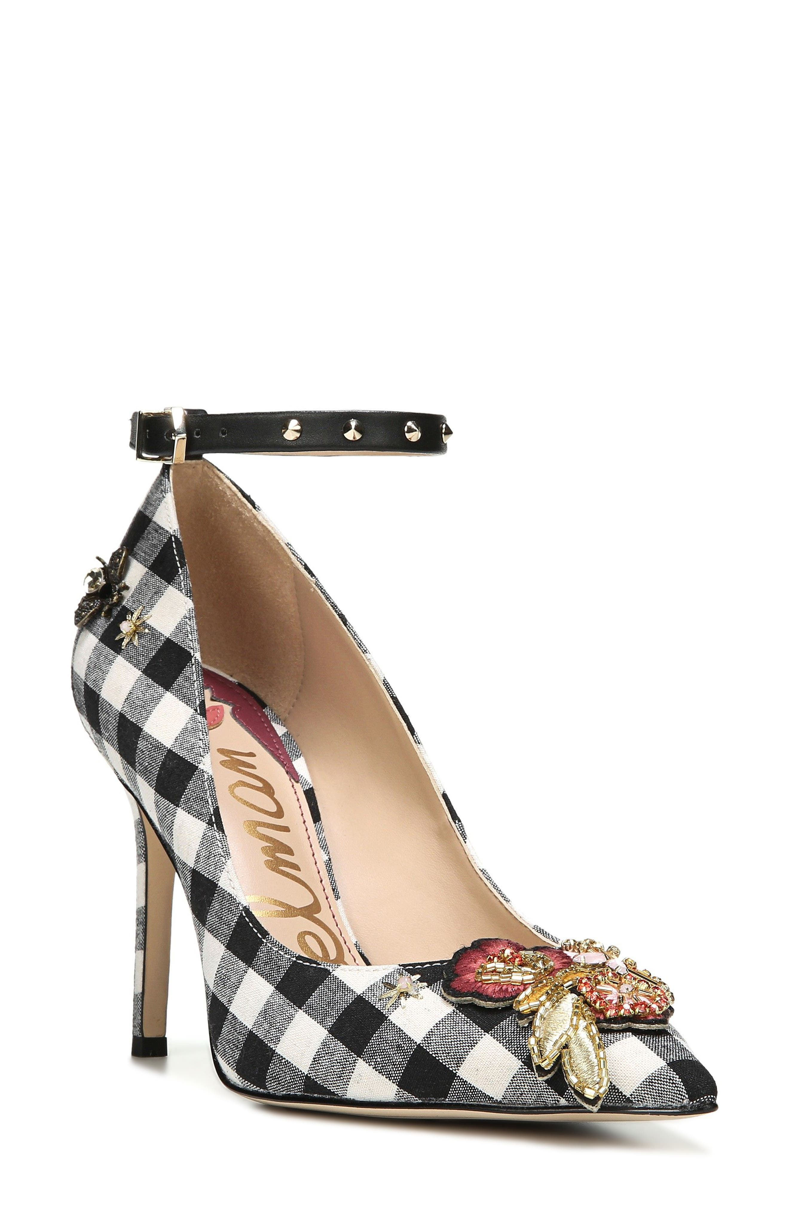 Sam Edelman Hermione Embellished Pump (Women)
