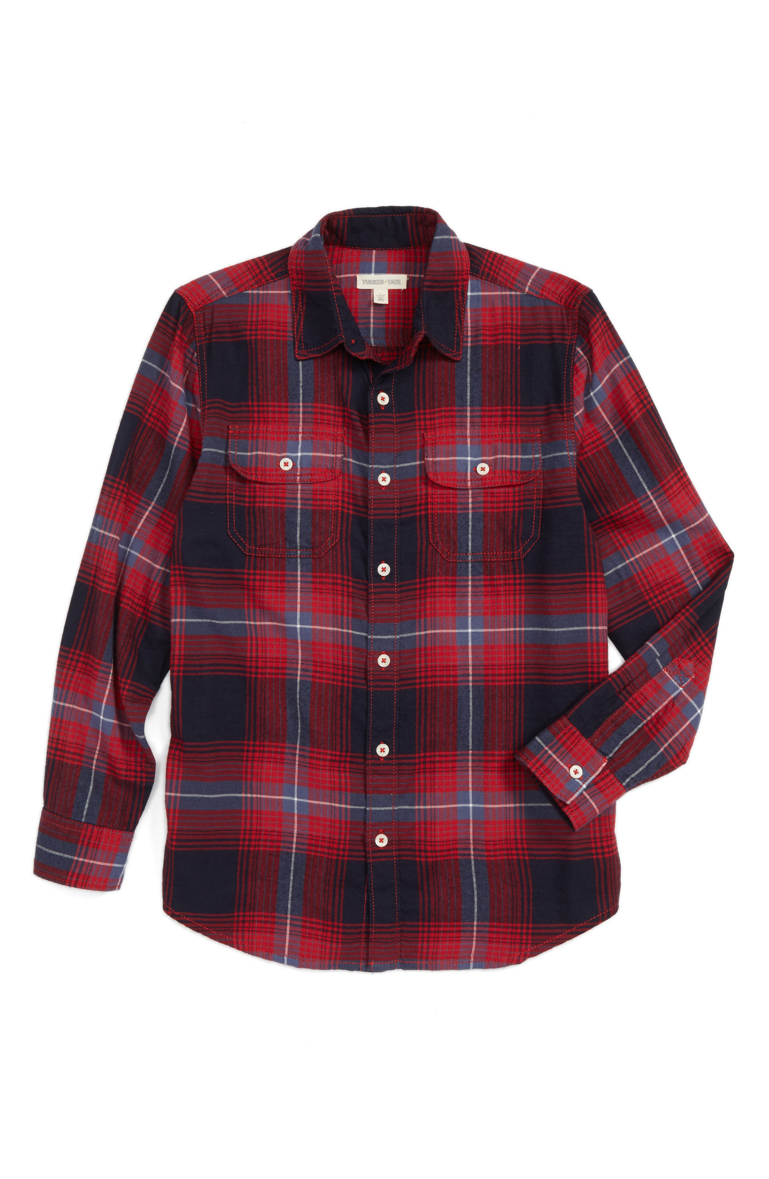 Tucker + Tate Ultrasoft Flannel Shirt (Big Boys)