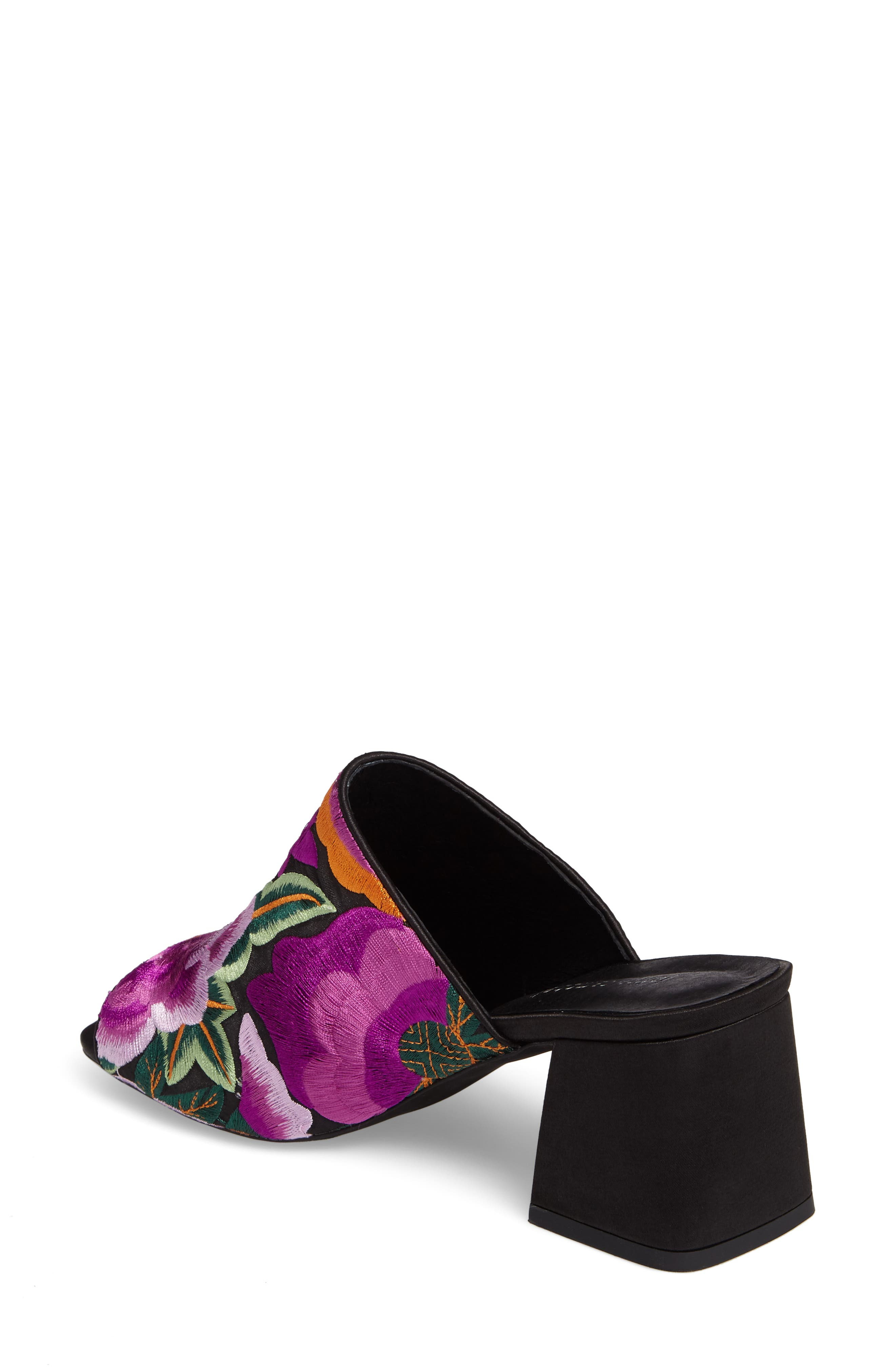 Alternate Image 2  - Jeffrey Campbell Perpetua Embroidered Open-Toe Mule (Women)
