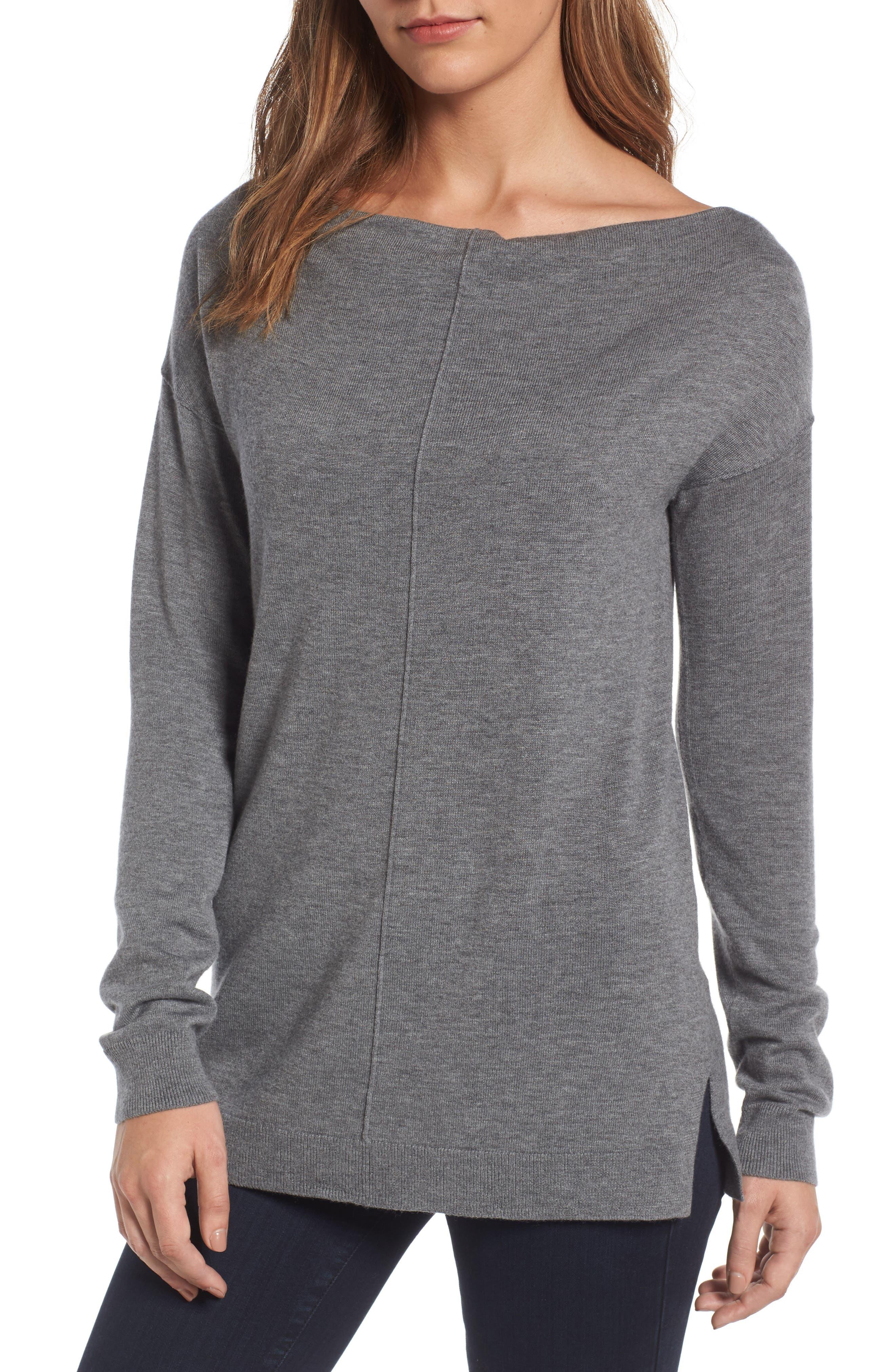 Trouvé Bateau Neck Sweater