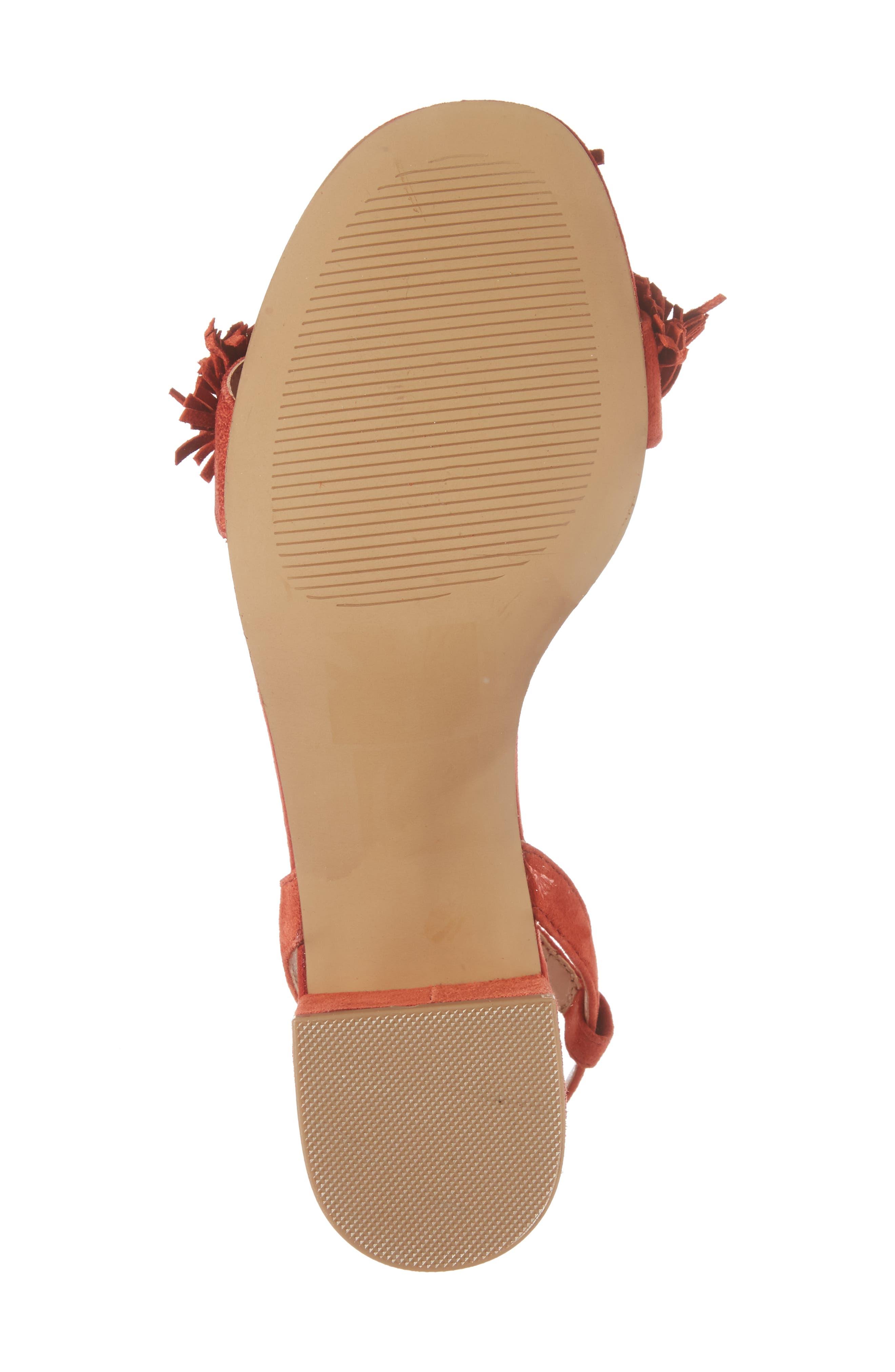 Alternate Image 6  - Sole Society Sera Wraparound Fringe Sandal (Women)