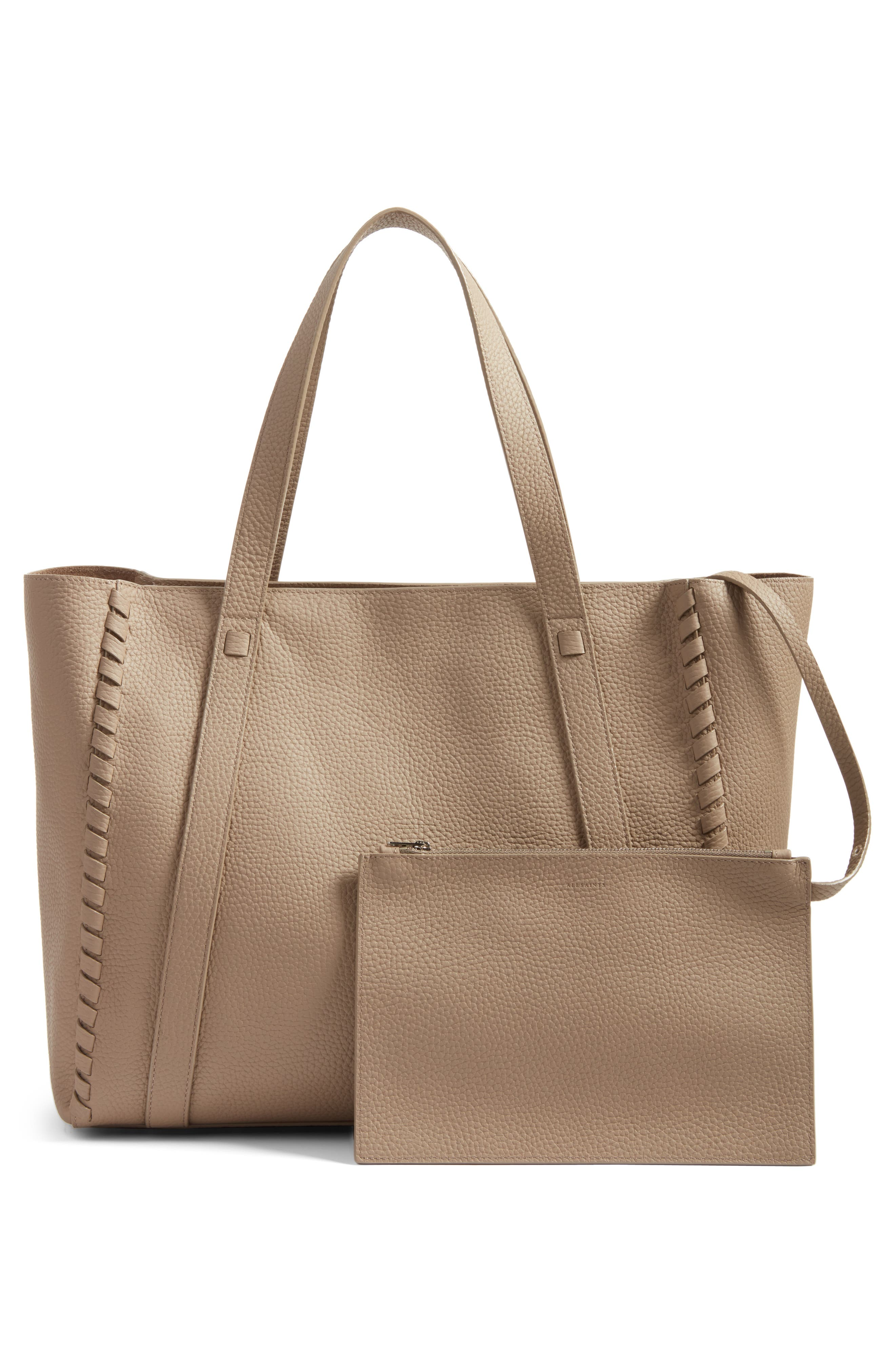 Alternate Image 3  - ALLSAINTS Raye Leather Tote (Nordstrom Exclusive)