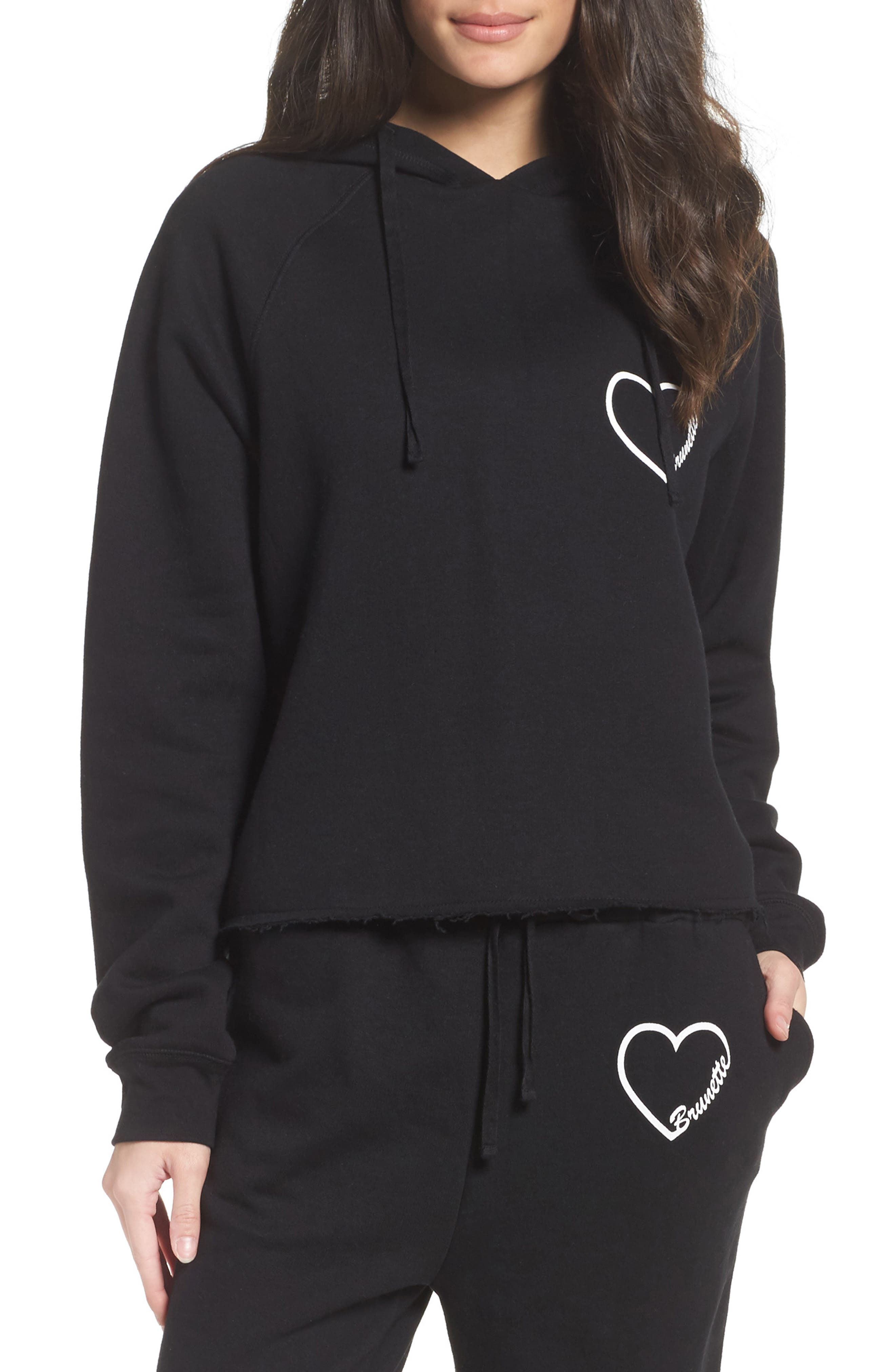 BRUNETTE the Label Brunette Heart Lounge Hoodie