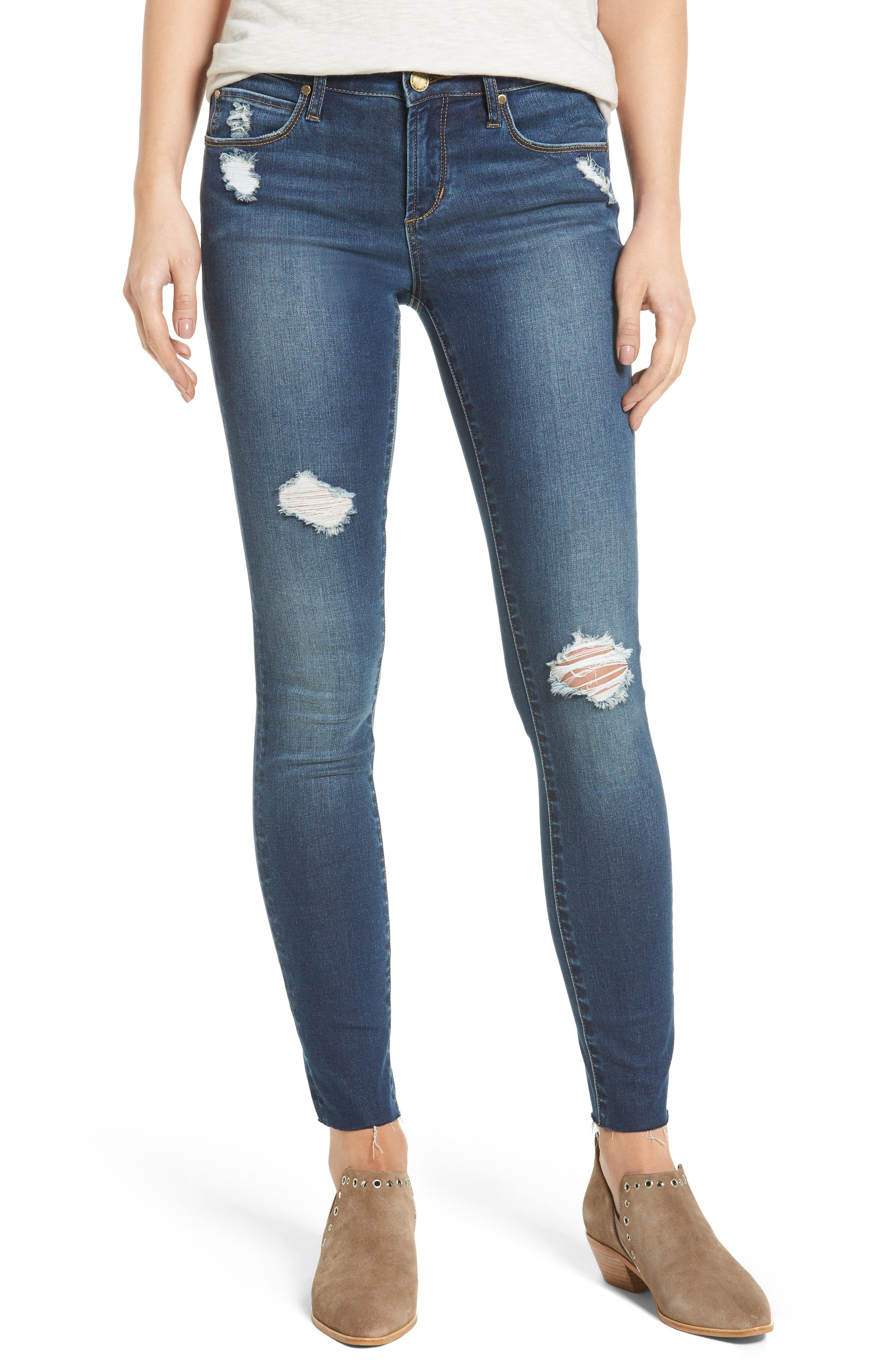 Alternate Image 1 Selected - Articles of Society Sarah Skinny Jeans (Vintage)