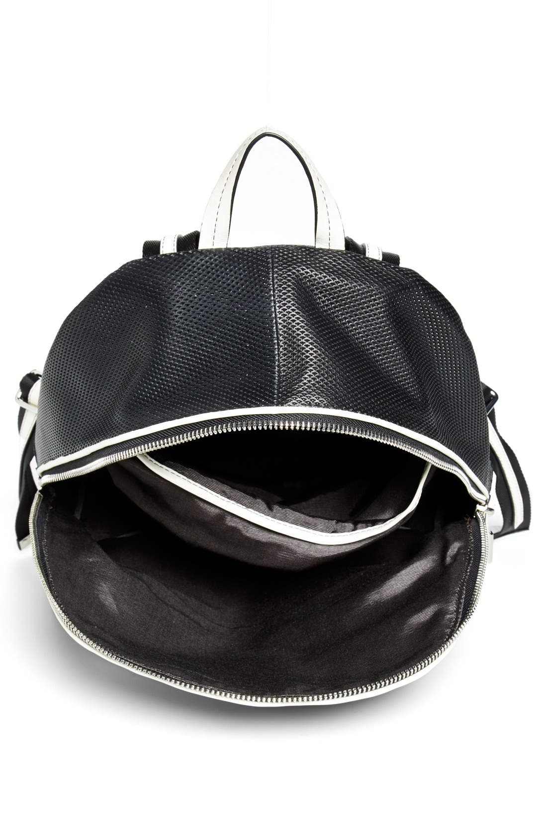 Alternate Image 3  - Elizabeth and James 'Cynnie' Perforated Leather Backpack