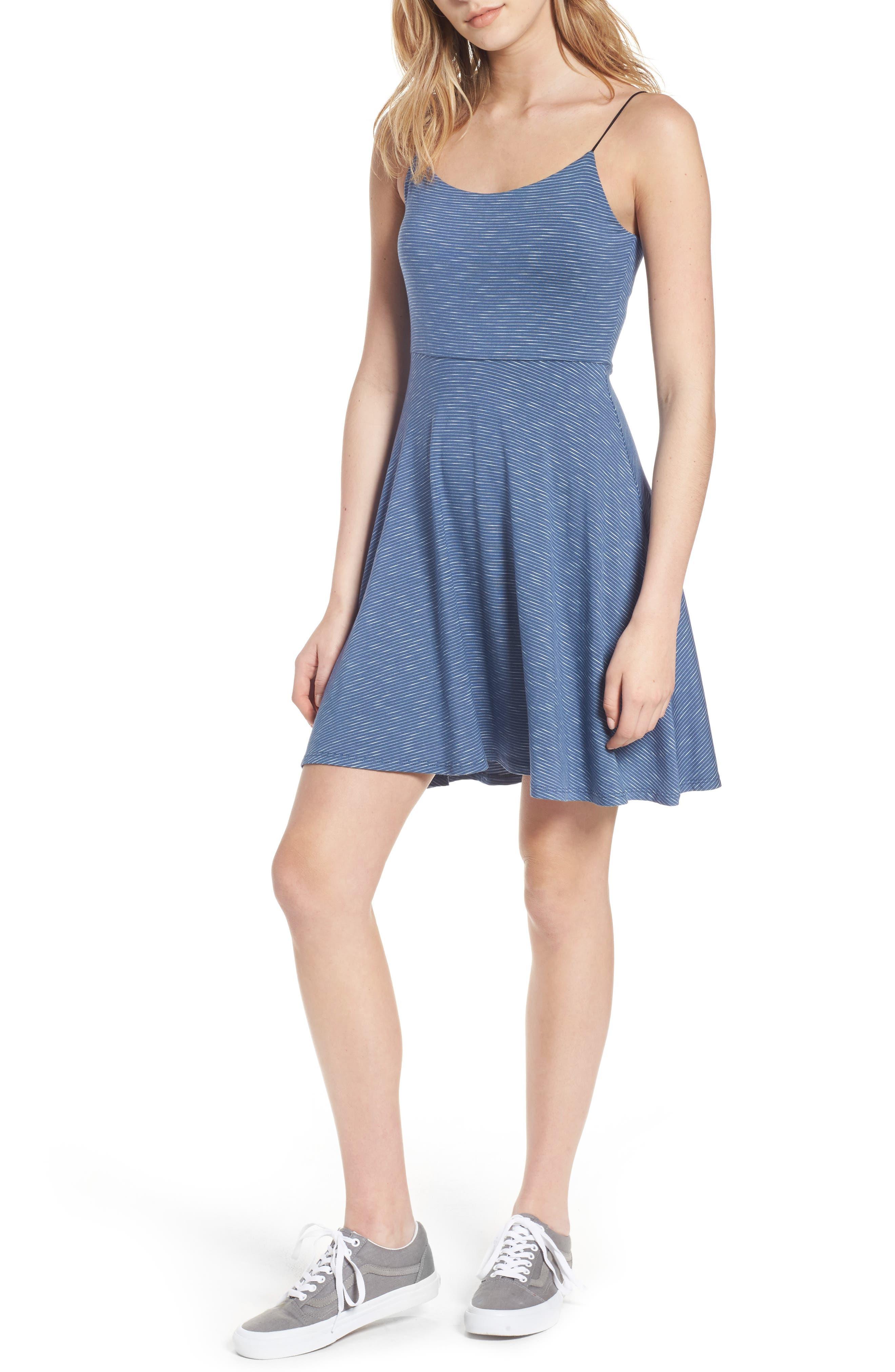 Lush Fit & Flare Dress