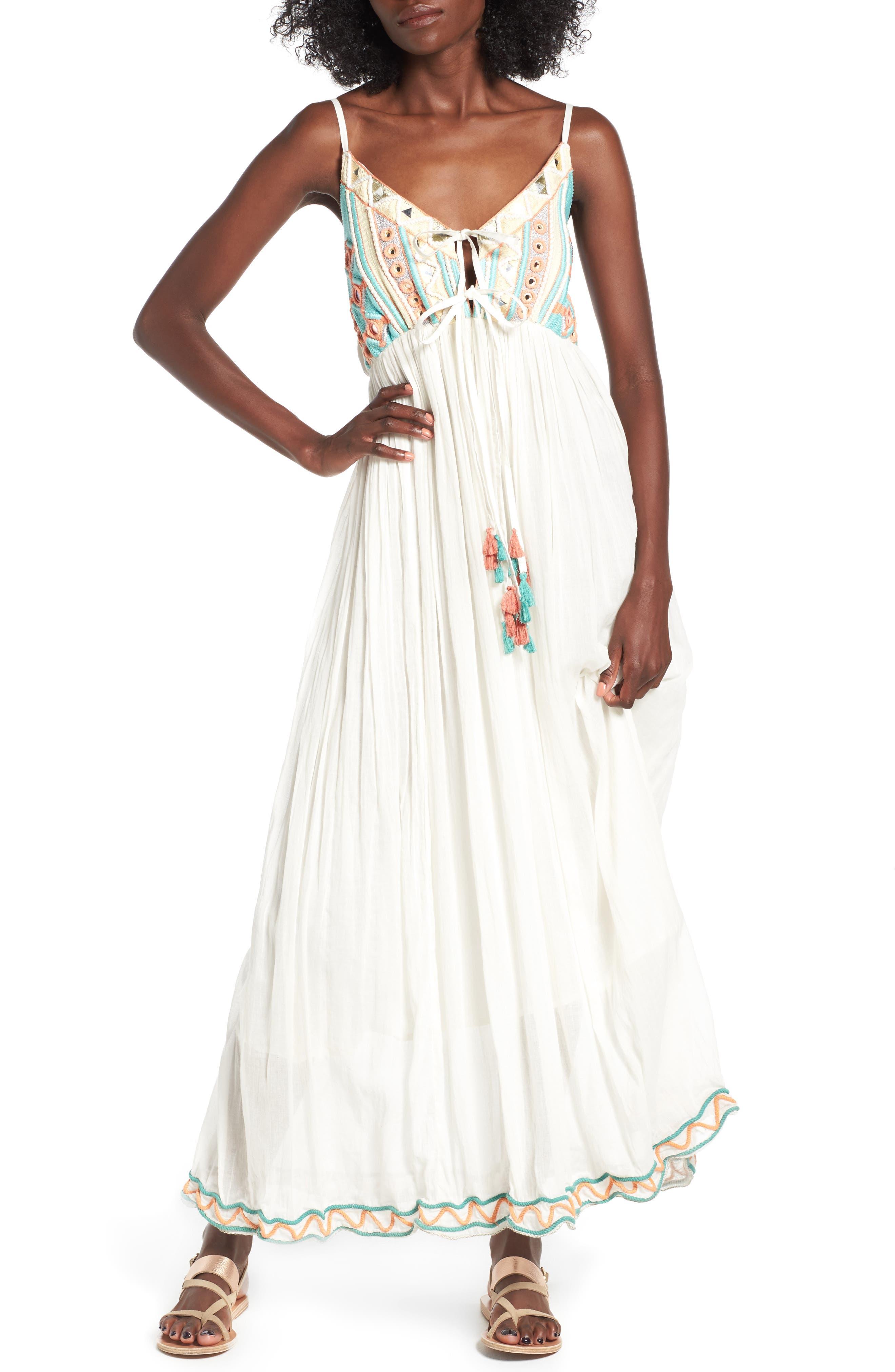 Raga Coastland Babydoll Maxi Dress