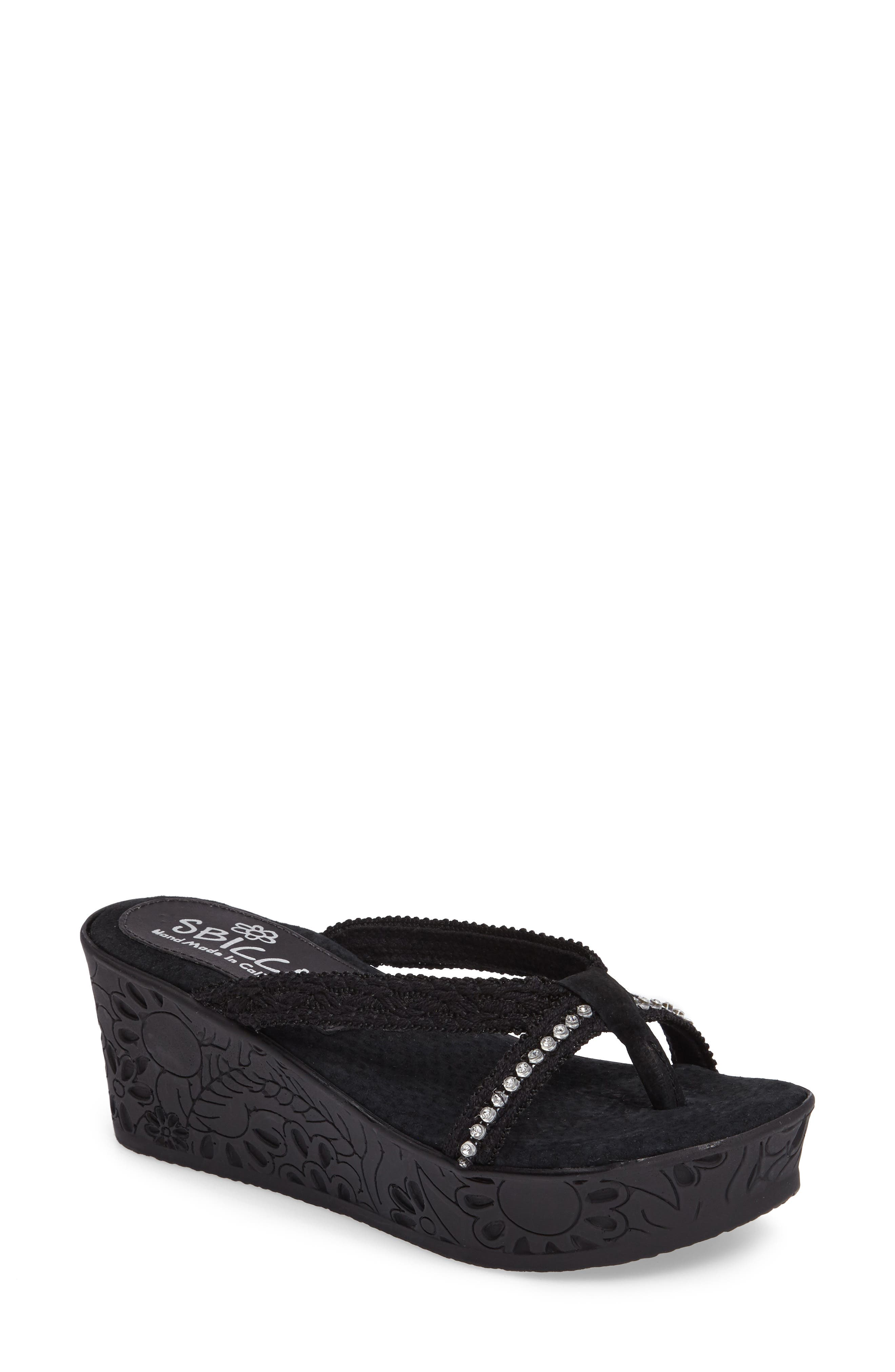 Sbicca Witness Platform Wedge Sandal (Women)