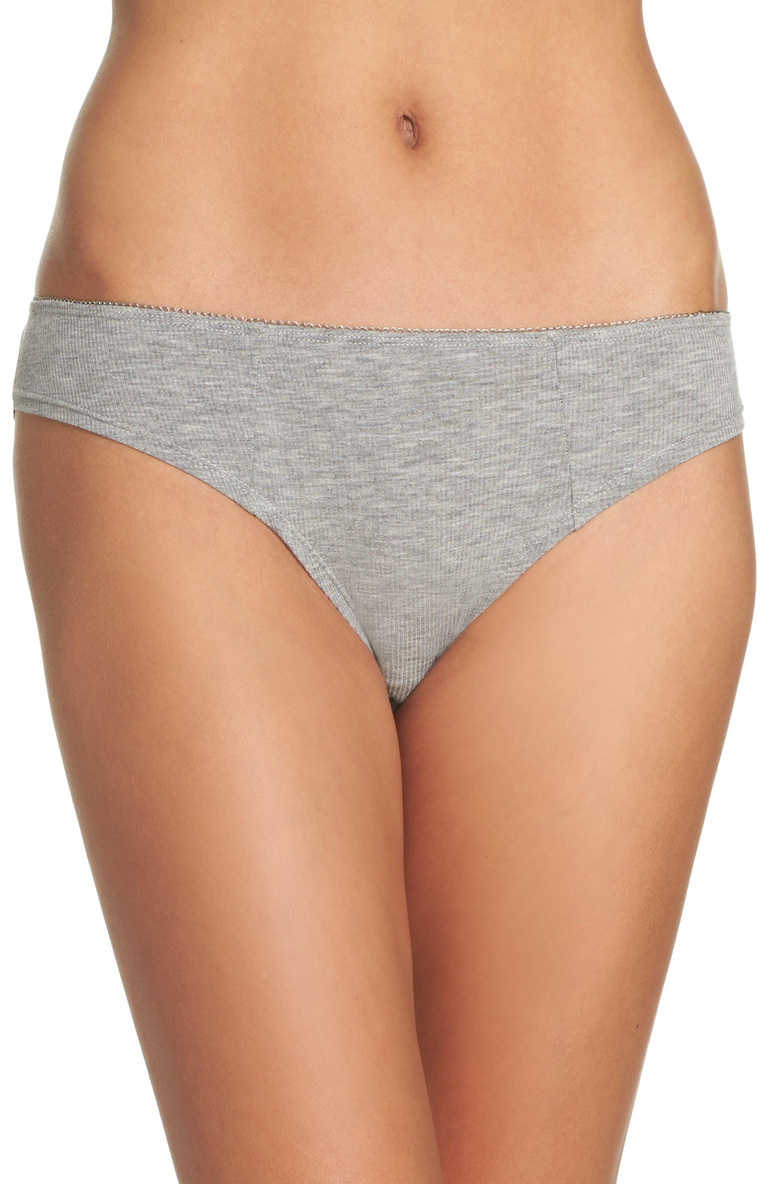 Honeydew Intimates Rib Knit Bikini (4 for $30)
