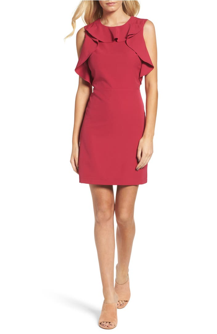 Chelsea28 ruffle sheath dress nordstrom for Nordstrom custom dress shirts