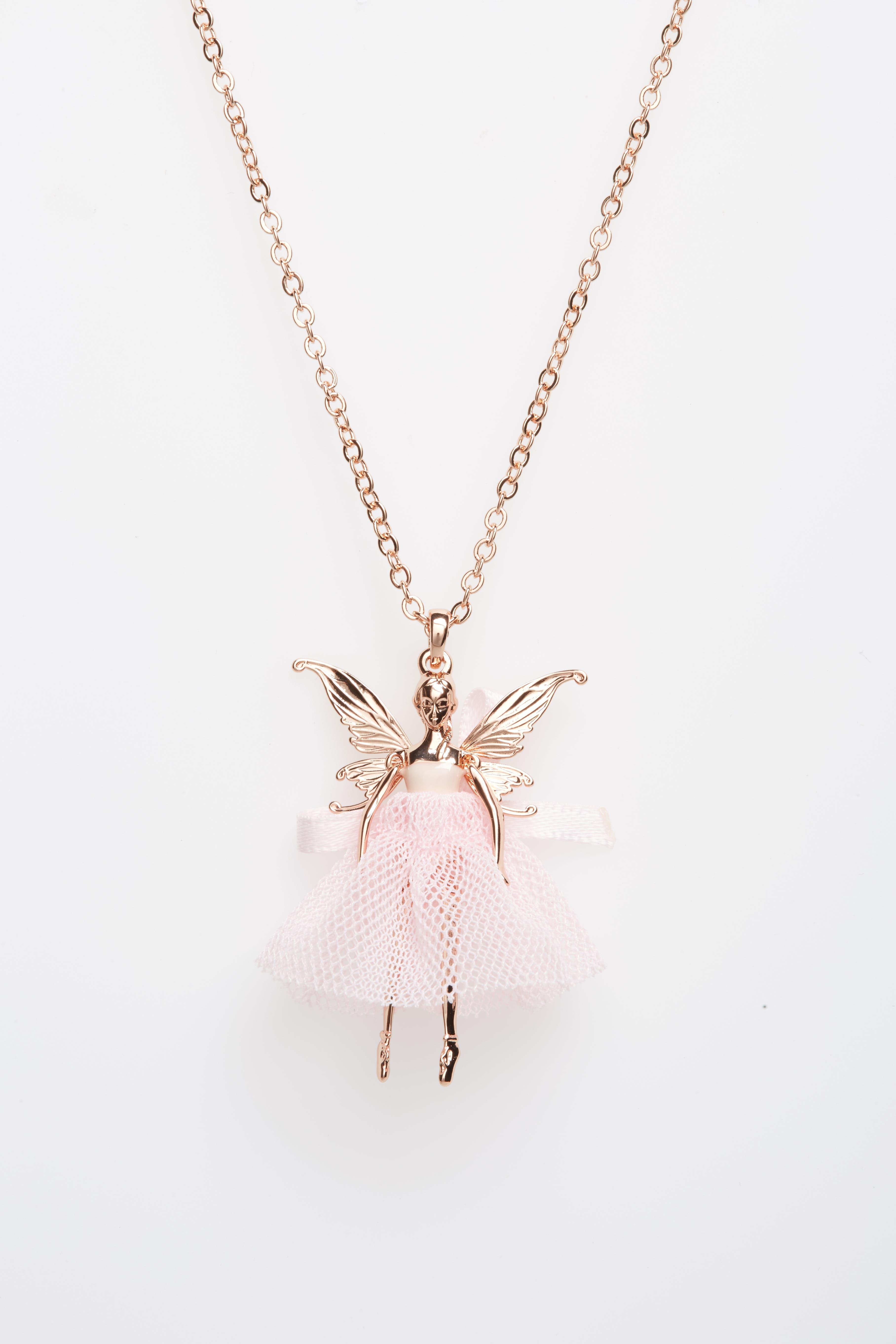Main Image - Ted Baker London Faylinn Mini Fairy Ballerina Necklace