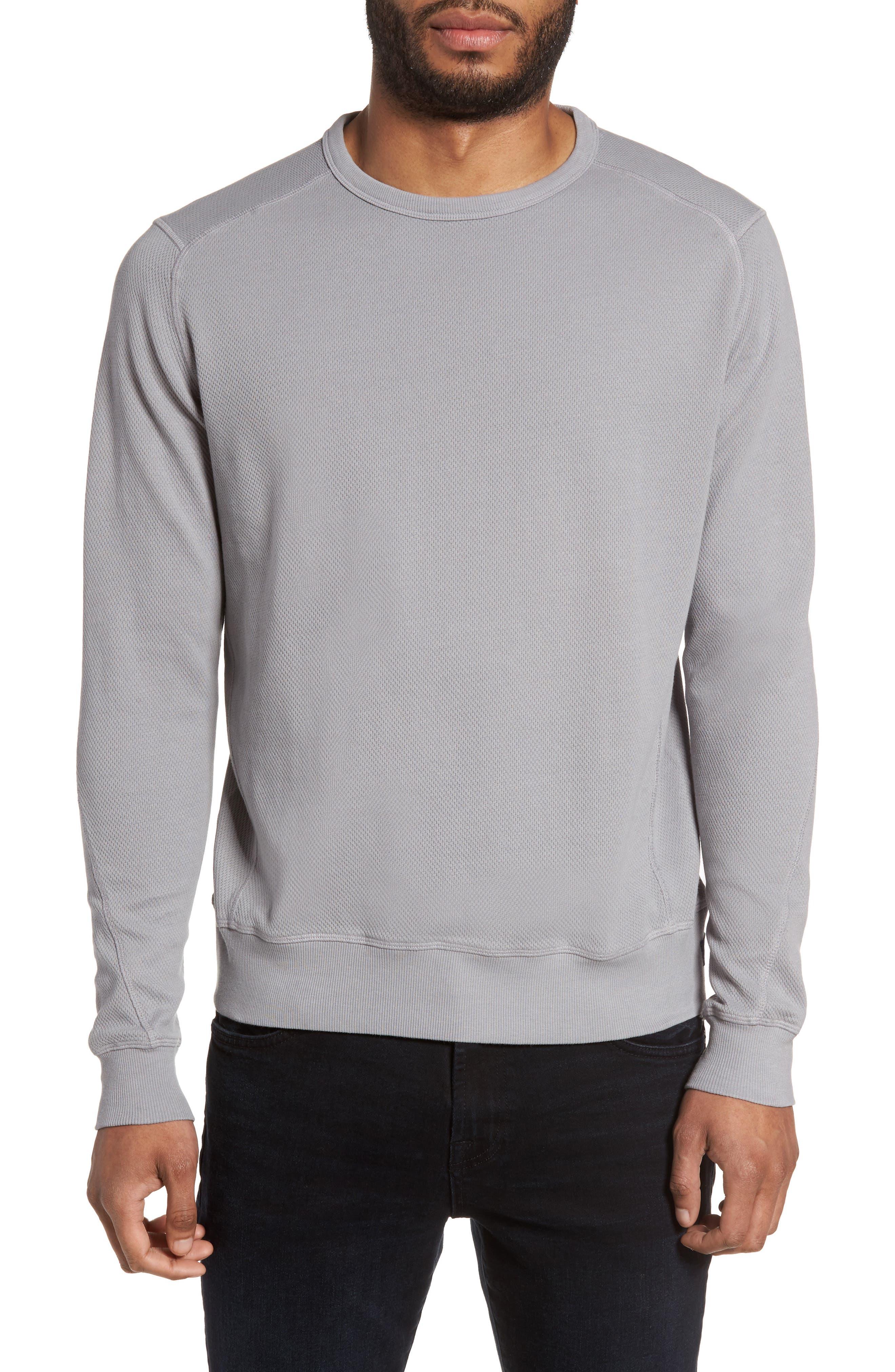 GOOD MAN BRAND Wrap Textured Cotton Sweatshirt