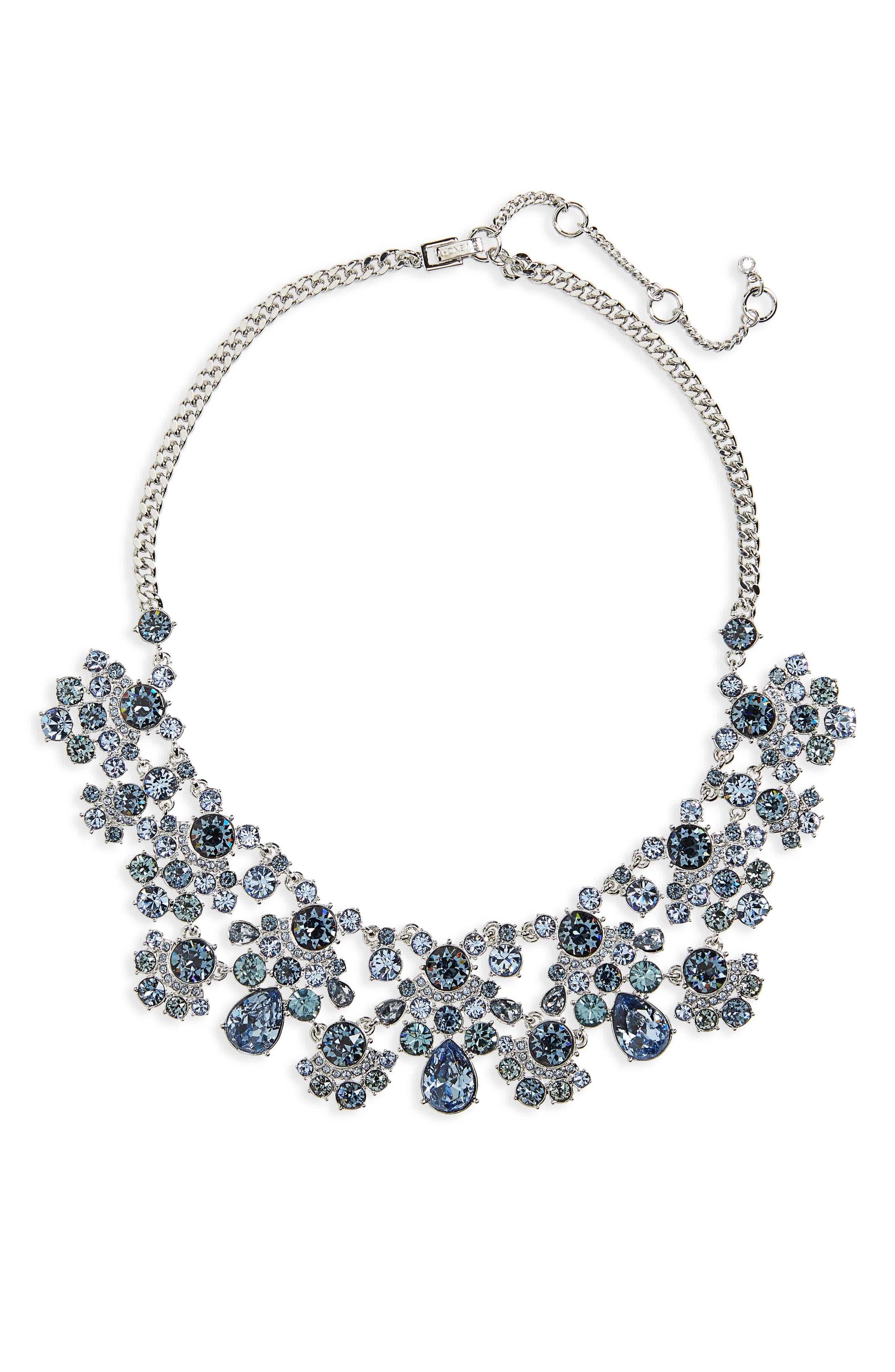Givenchy Verona Drama Collar Crystal