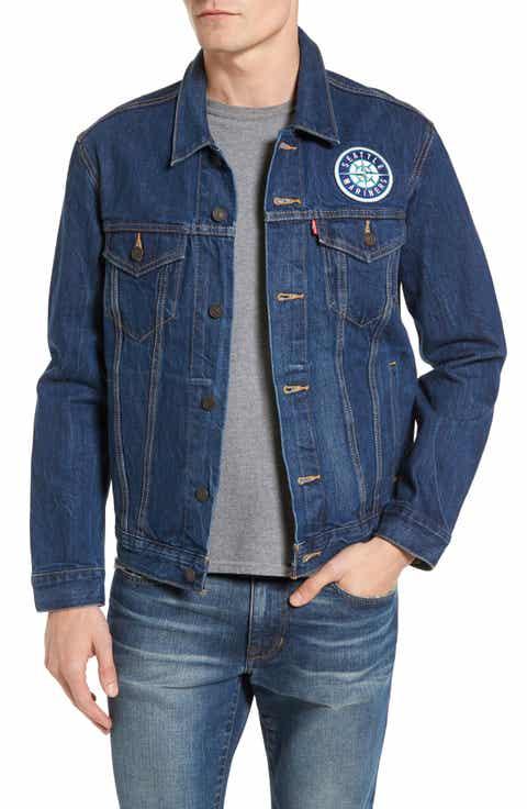 Levi's® Seattle Mariners Denim Trucker Jacket