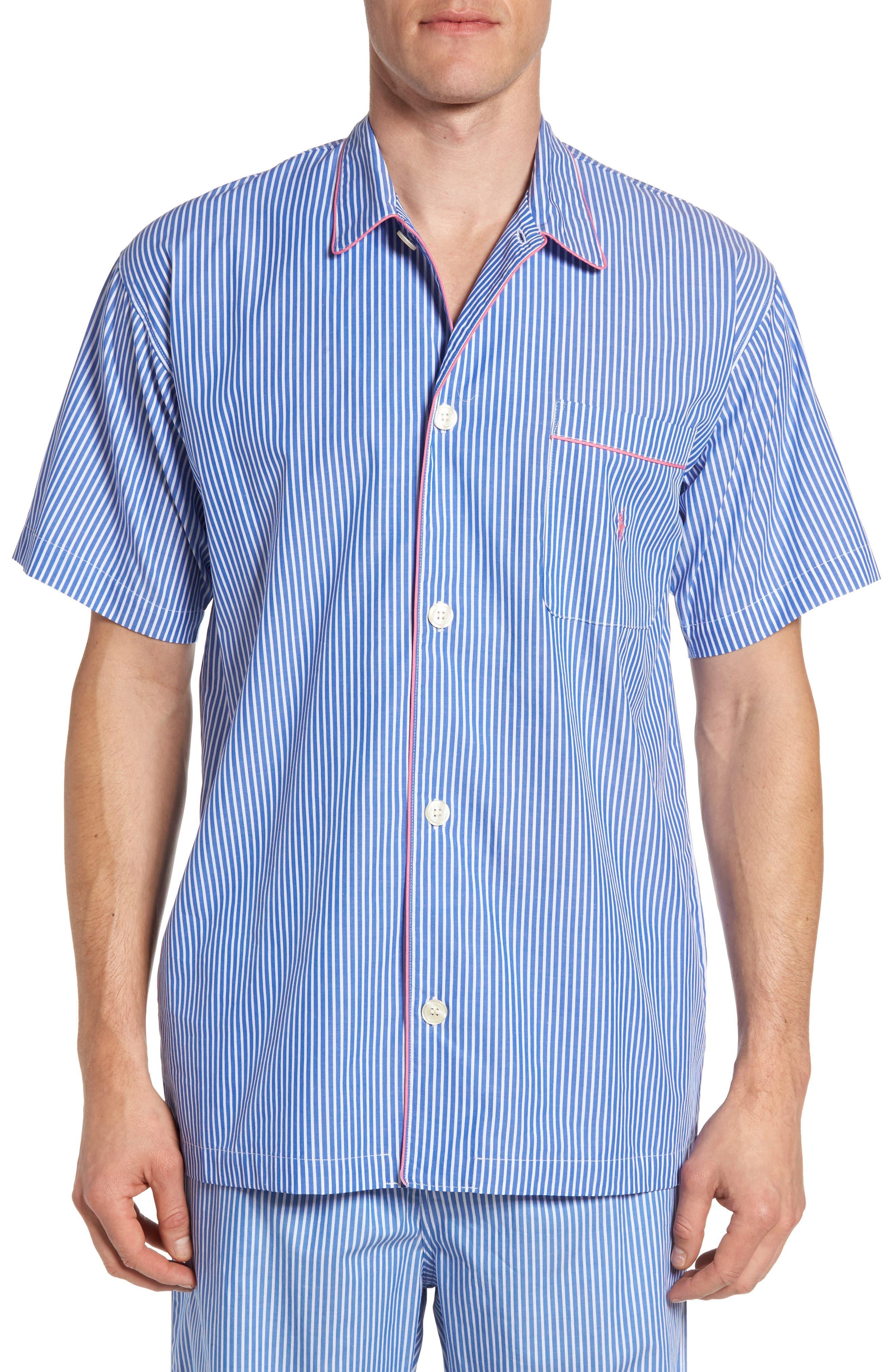 Polo Ralph Lauren Woven Cotton Pajama Top