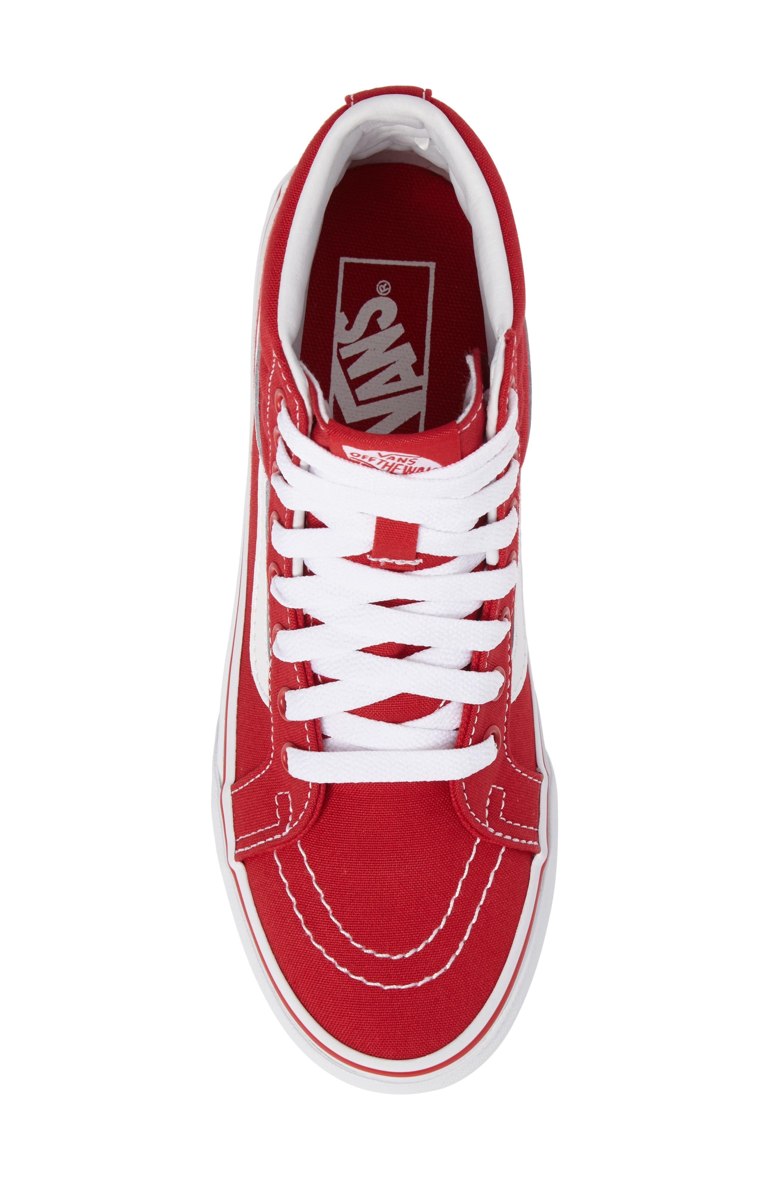 Alternate Image 5  - Vans 'Sk8-Hi Slim' Sneaker (Women)