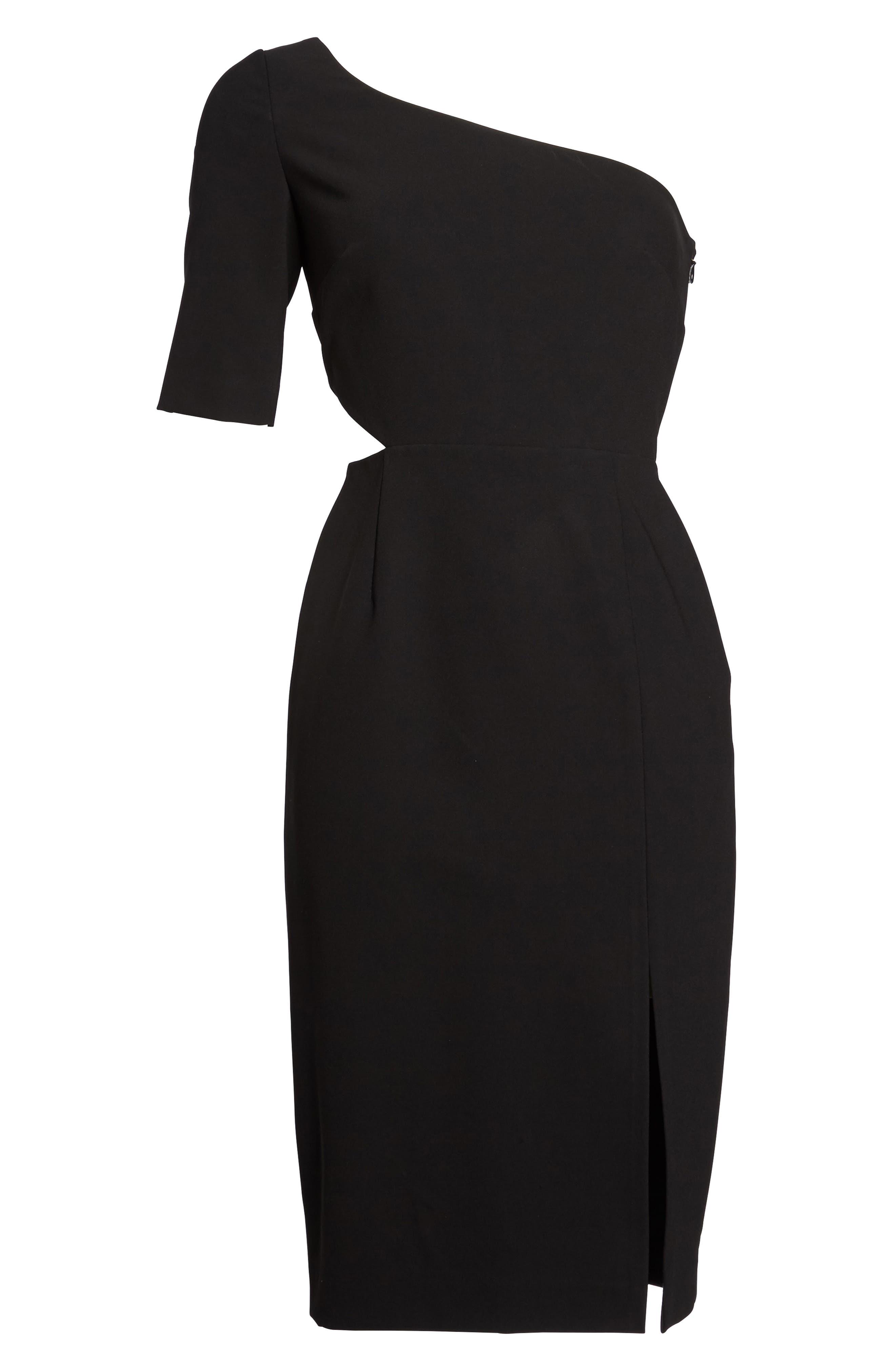 Alternate Image 6  - Jill Jill Stuart One-Shoulder Sheath Dress