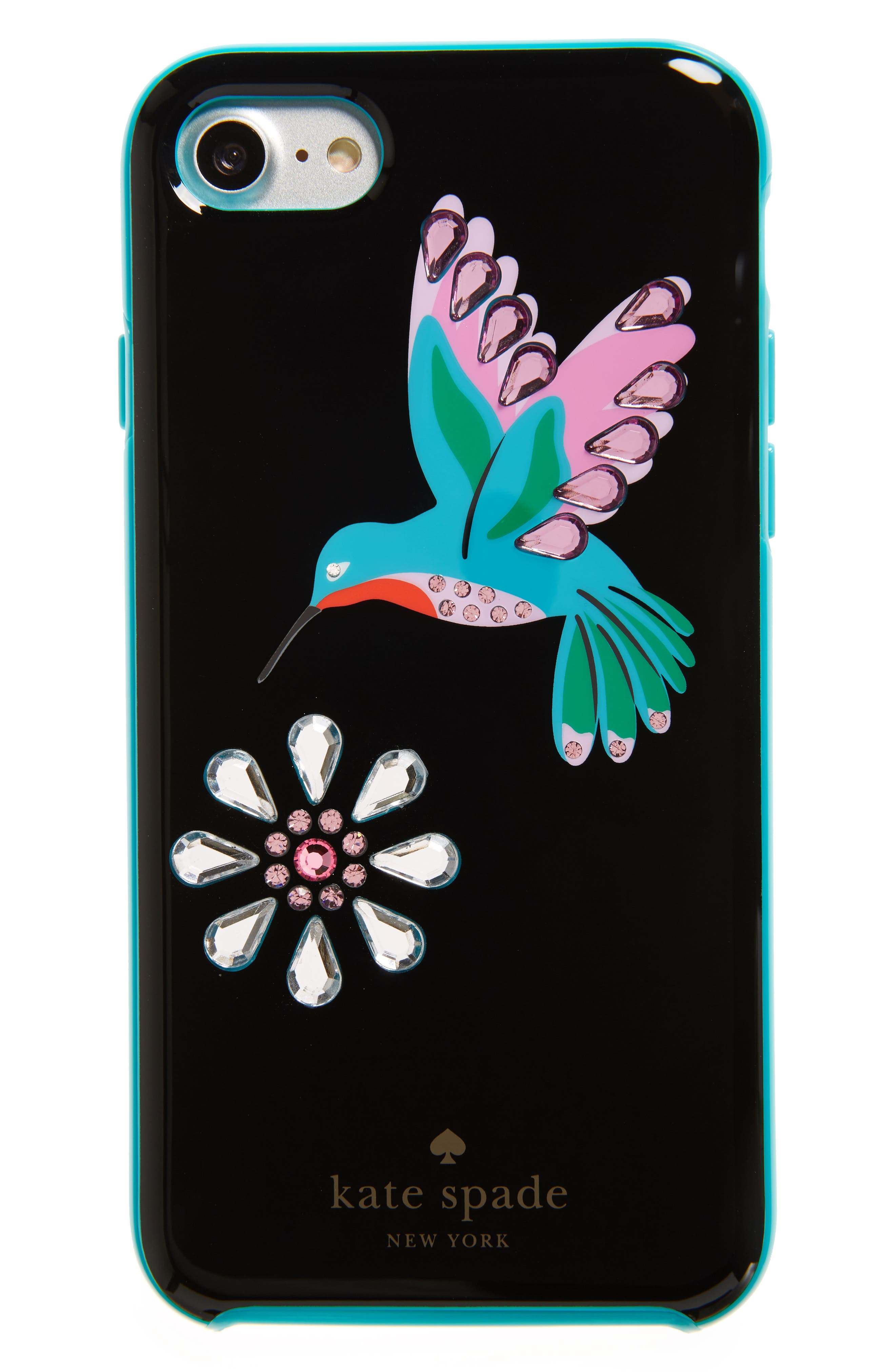 kate spade new york jeweled hummingbird iPhone 7 & 7 Plus case