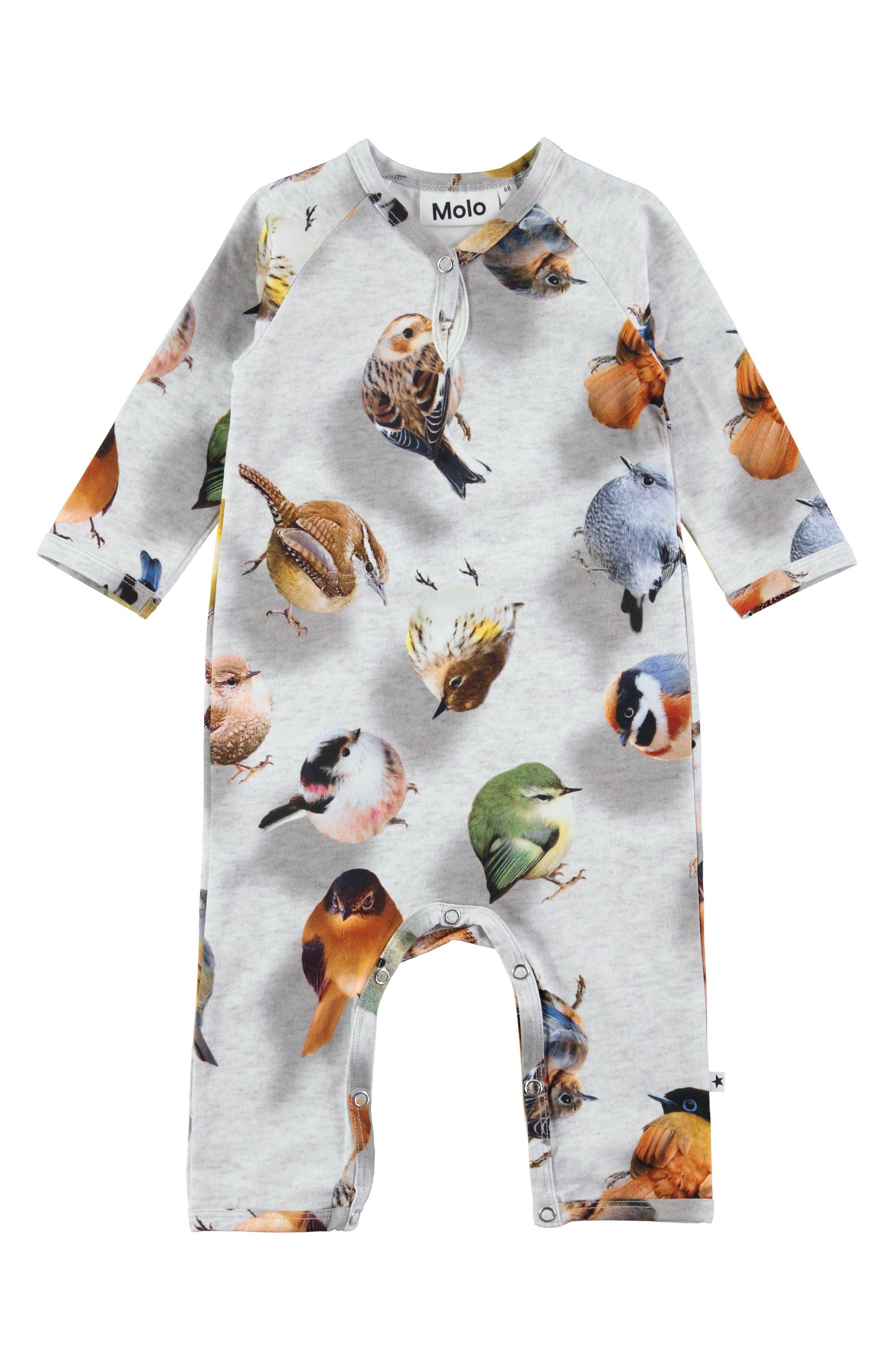 Molo Fiona Print Romper (Baby)